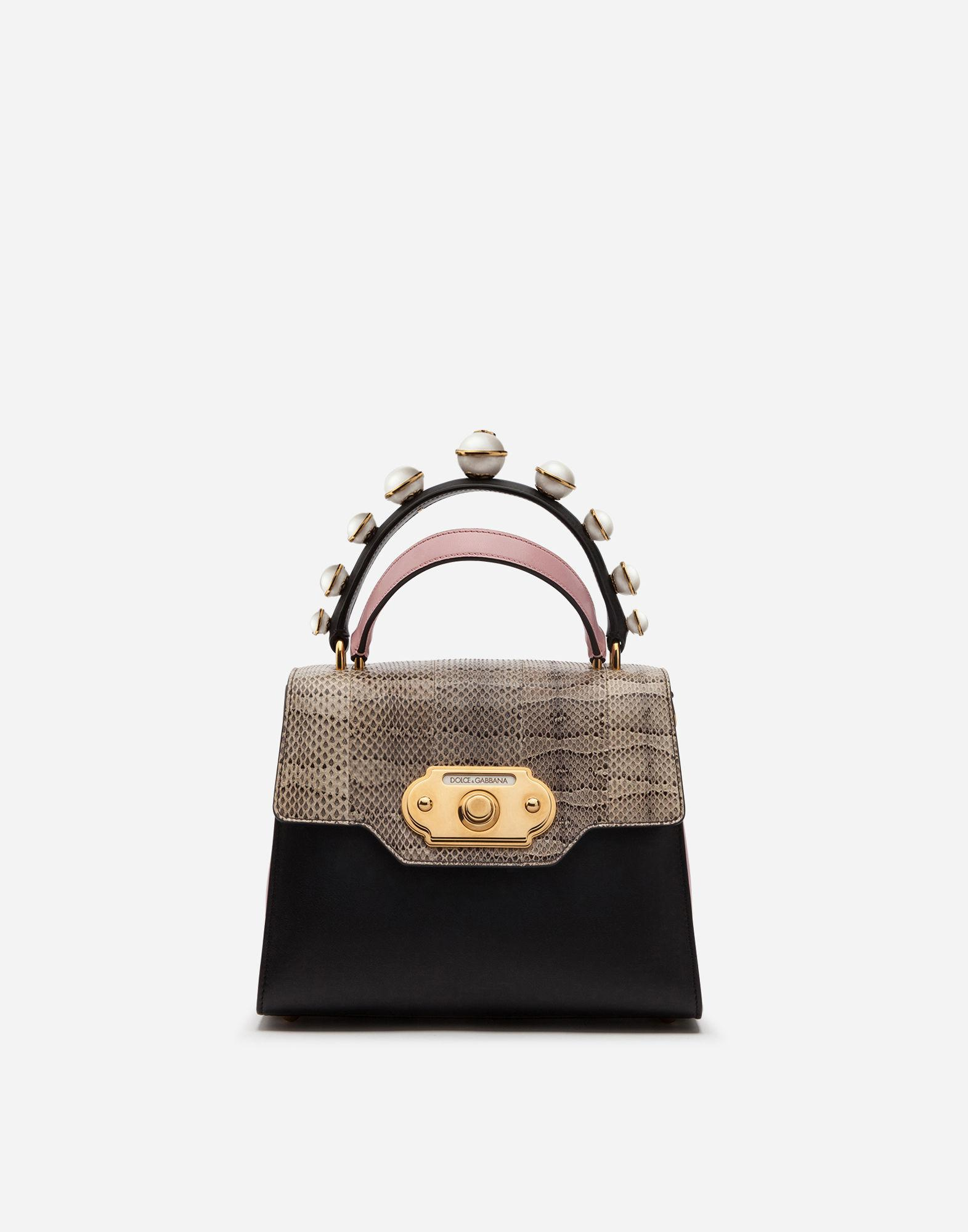 3f8423e14a Dolce   Gabbana - Multicolor Medium Welcome Bag In Mix Of Materials - Lyst