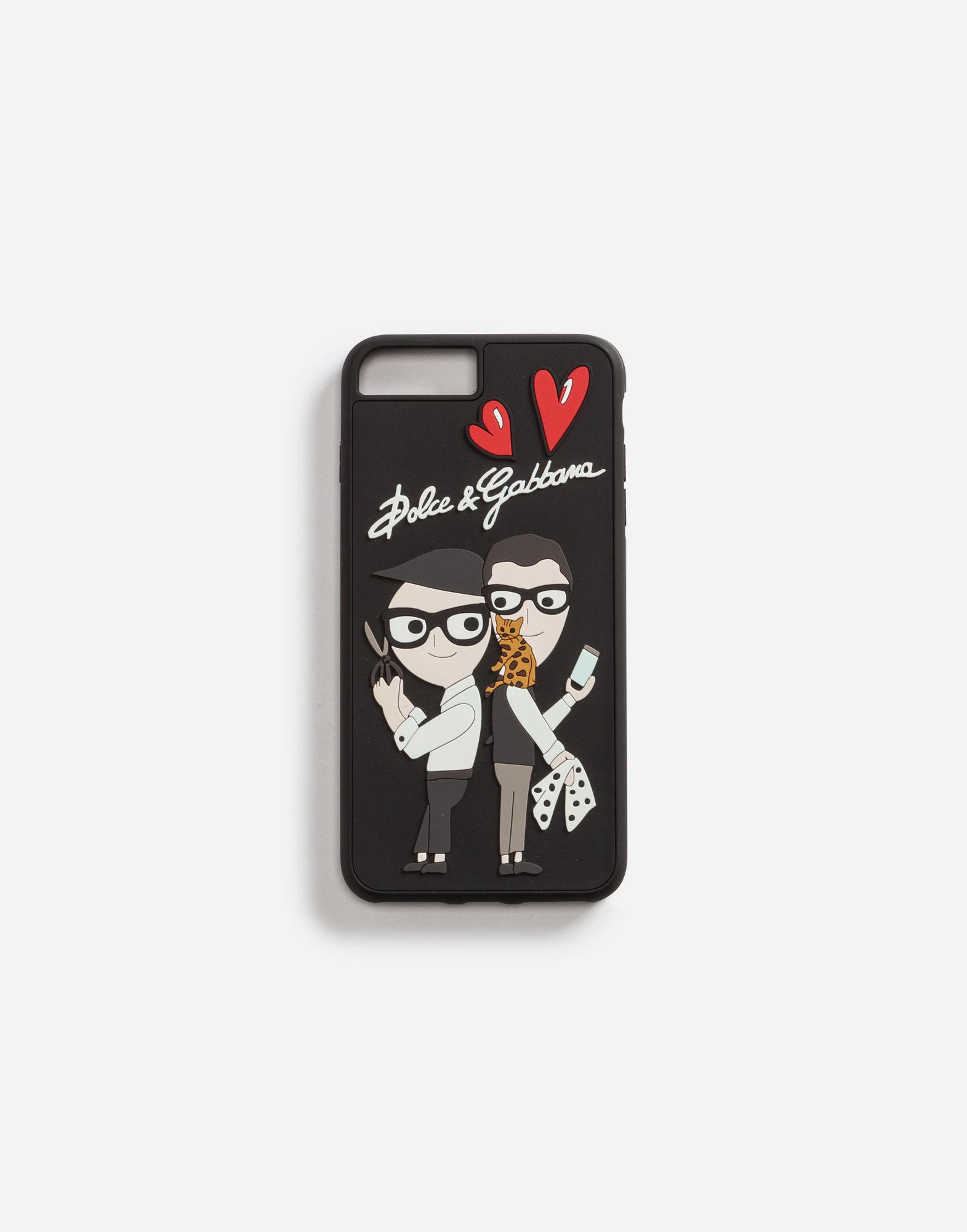 Black Family Designer Rubber iPhone X Case Dolce & Gabbana vSfn6c