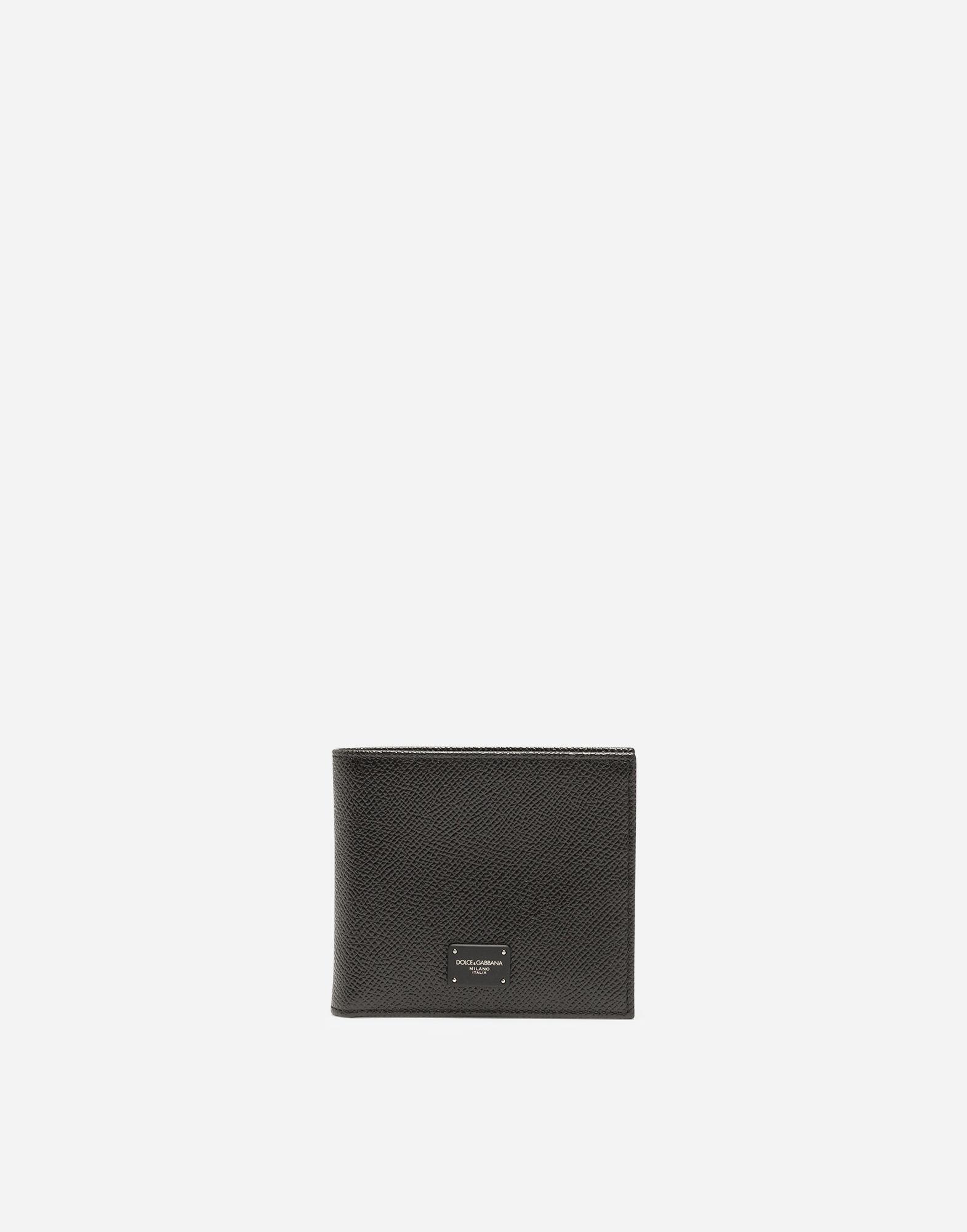 f47185e5d1 Lyst - Dolce & Gabbana Dauphine Calfskin Wallet in Black for Men