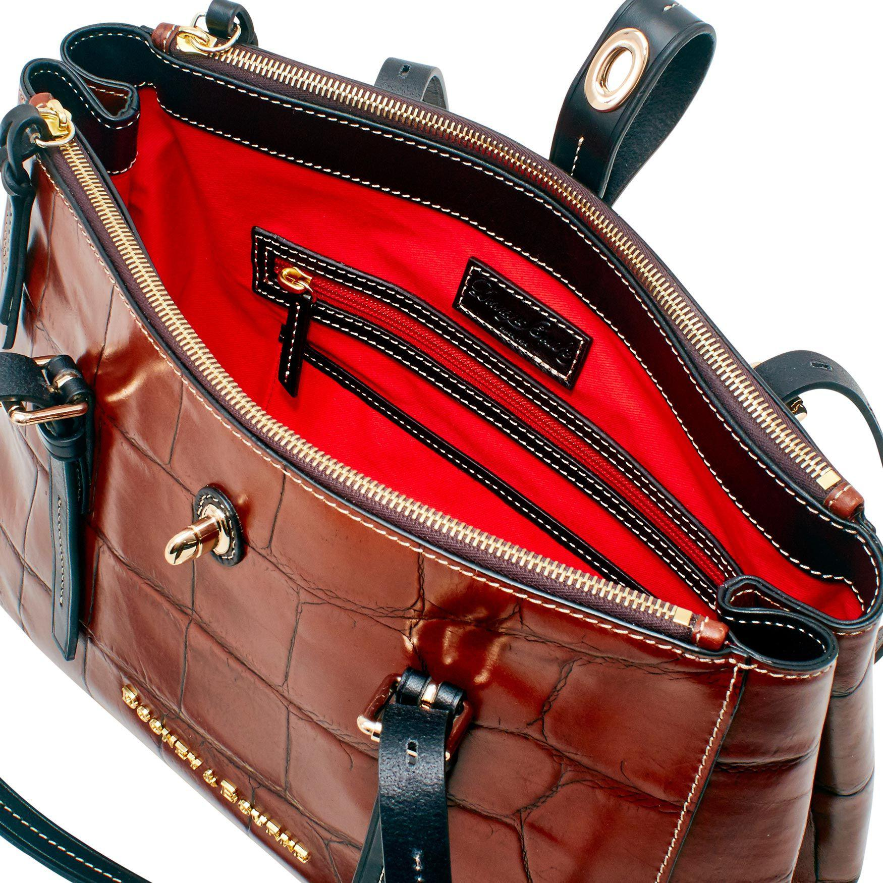 5c5453c7a61 Lyst - Dooney   Bourke Denison Miller Shopper in Red
