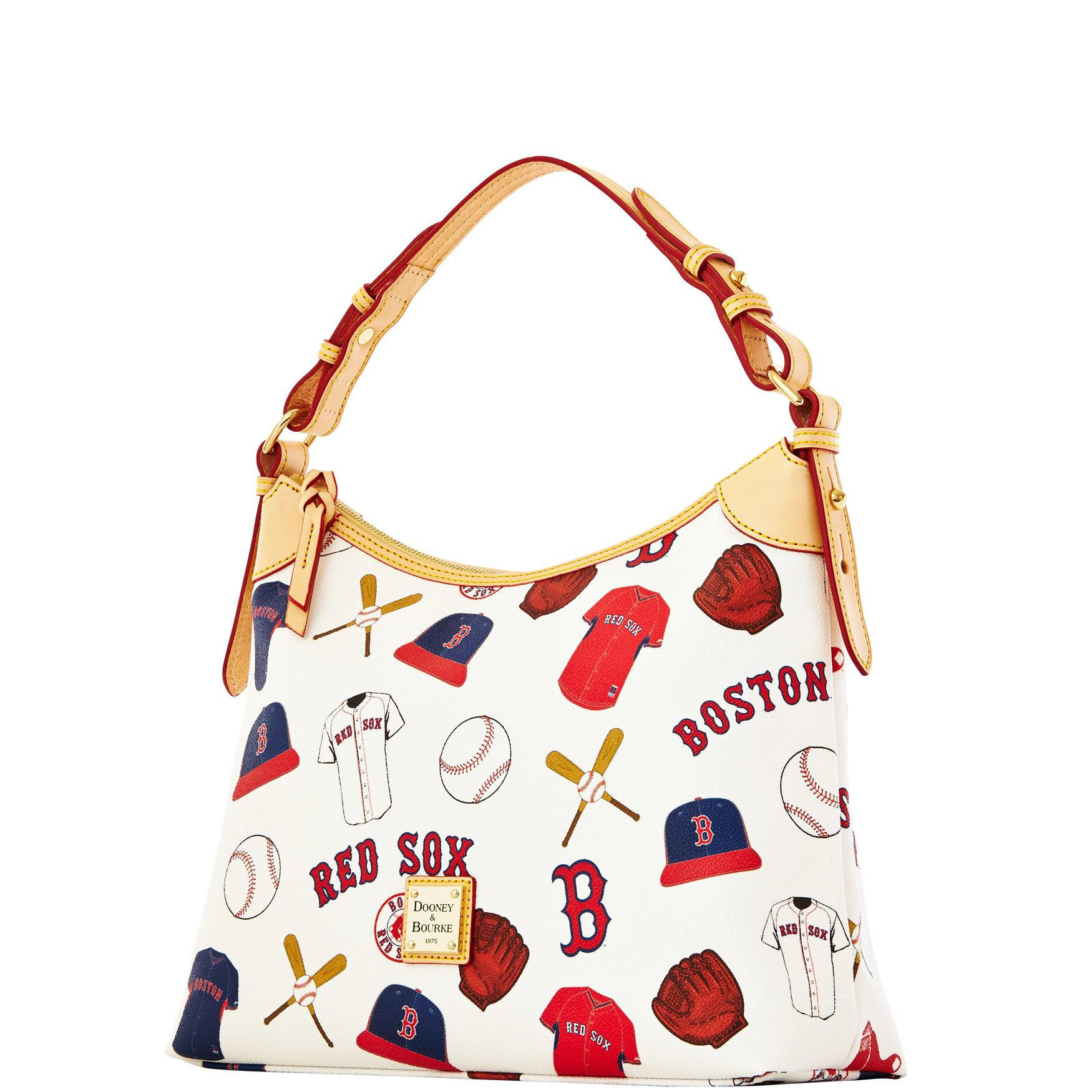 6ae6364618 Dooney & Bourke Mlb Red Sox Hobo in Red - Lyst