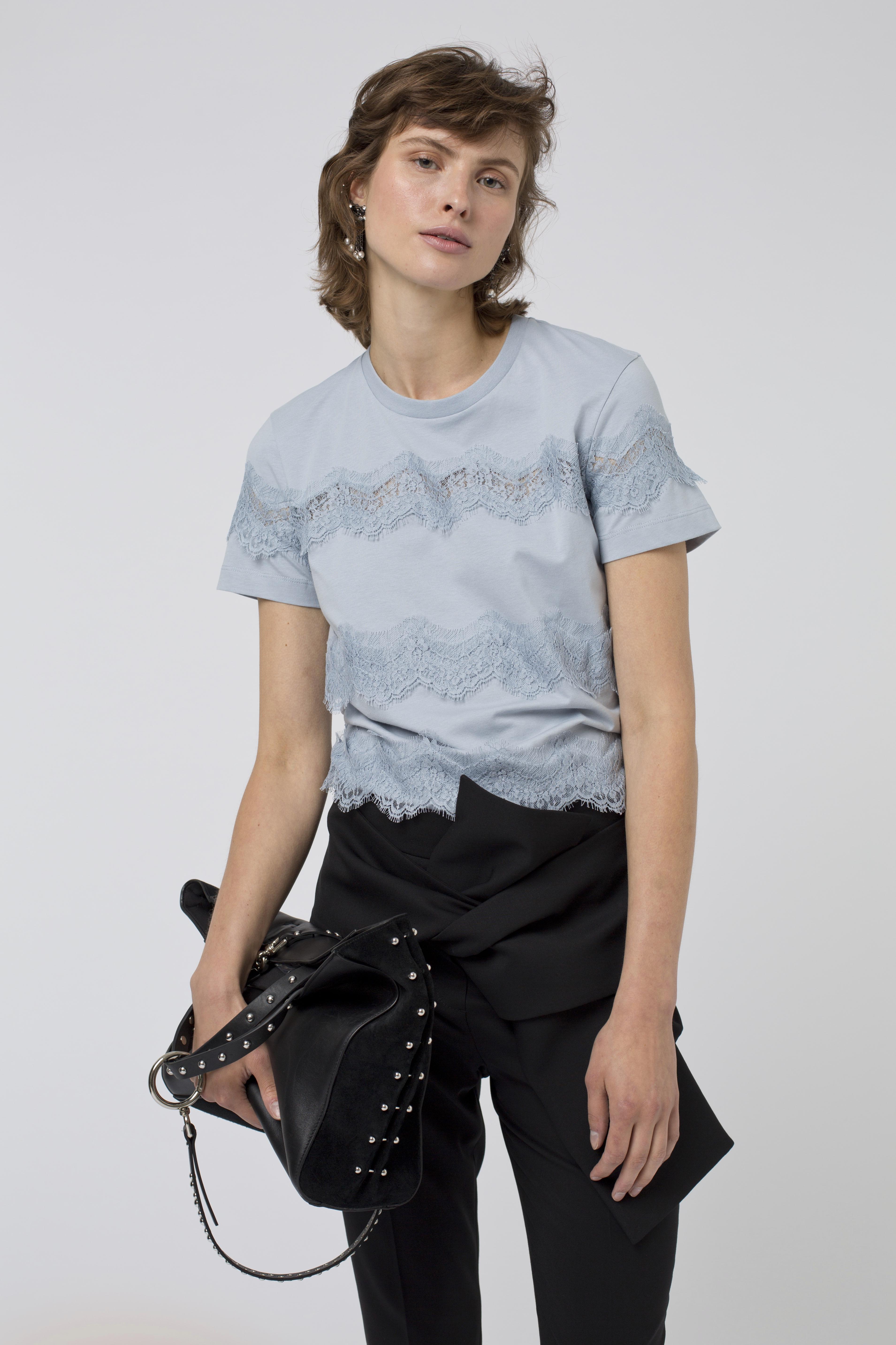 Dorothee en Rebellion Schumacher Sweet Shirt 14 Lyst Blue 7Xq7rpwP dbcf83cdafe3