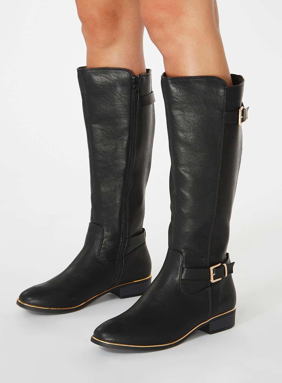 High  trinity  Knee Lyst In Dorothy Black Perkins Boots SXw87x c70cdf4212
