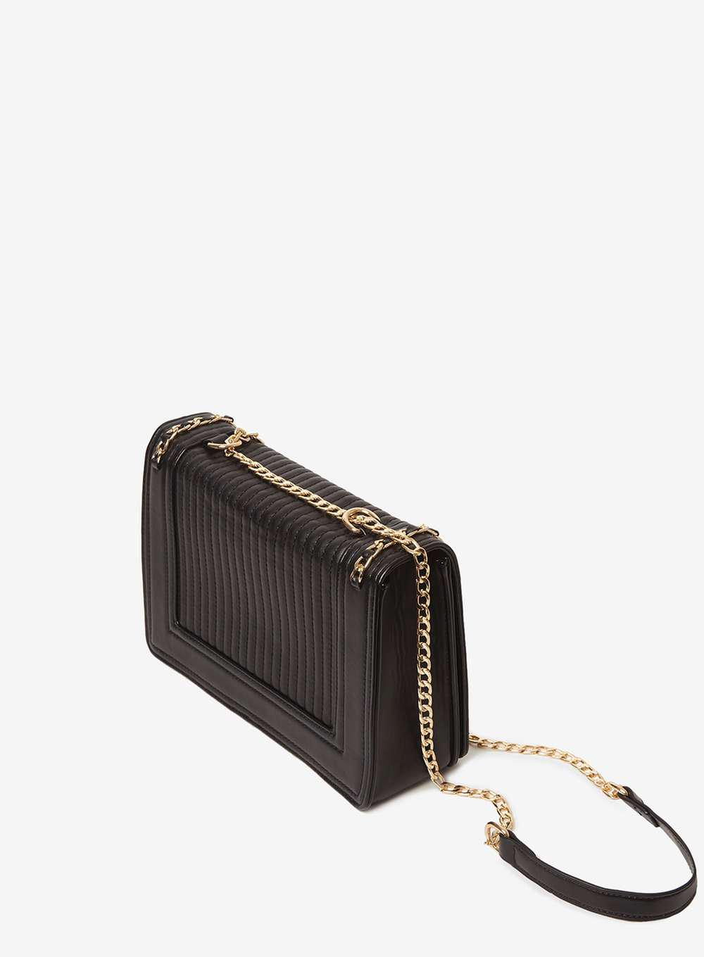 ae58cb836c5d3 Black Gold Crossbody Bag