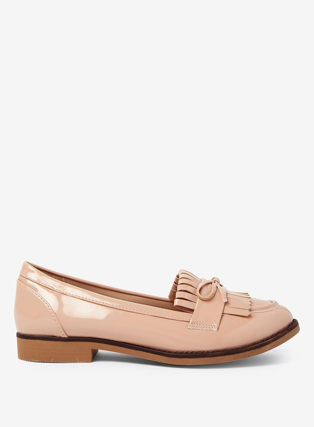 Dorothy Perkins Wide Fit WIDE FIT LOTTA - Mocassins - nude