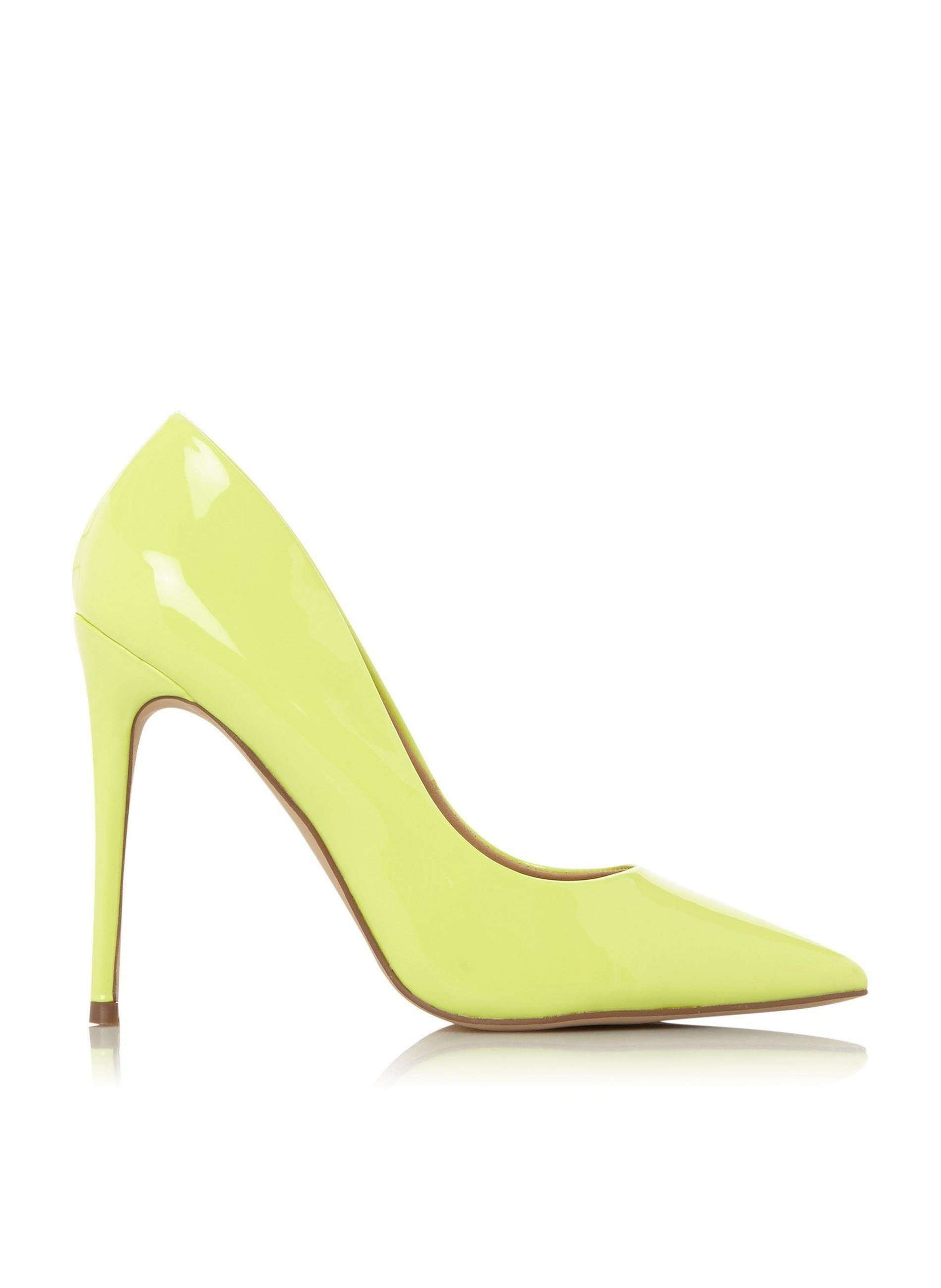 7e6304ab338c6 Dune. Women's By Dune Lime 'aimees' Court Shoes