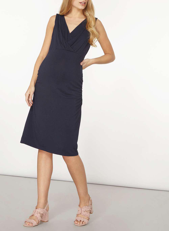 9e228546f68 Dorothy Perkins Mamalicious Navy Midi Nursing Dress in Blue - Lyst