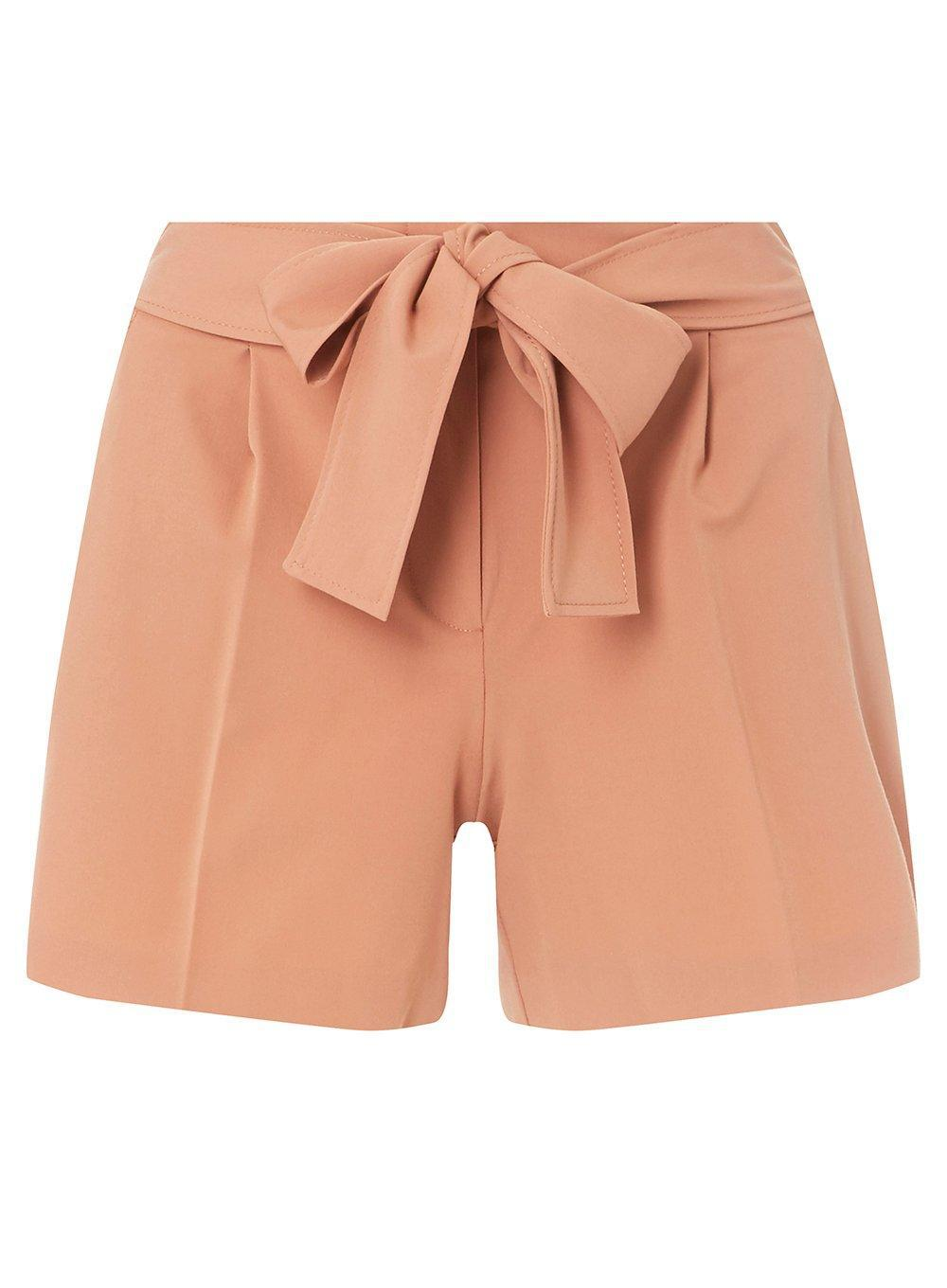 Dorothy Perkins Womens Blush Sash Tie Shorts- Outlet 2018 New New Arrival Outlet clvT0R
