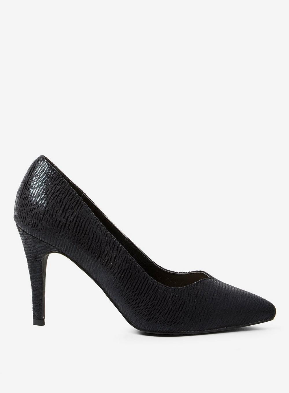 99678c8ddc Lyst - Dorothy Perkins Black Microfibre 'drake' Court Shoes in Black