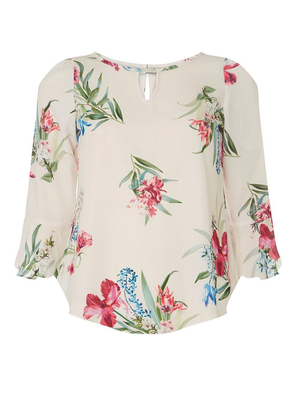 Dorothy Perkins Womens **Billie & Blossom Flute Sleeve Blouse- Best Cheap Online vsEOVG