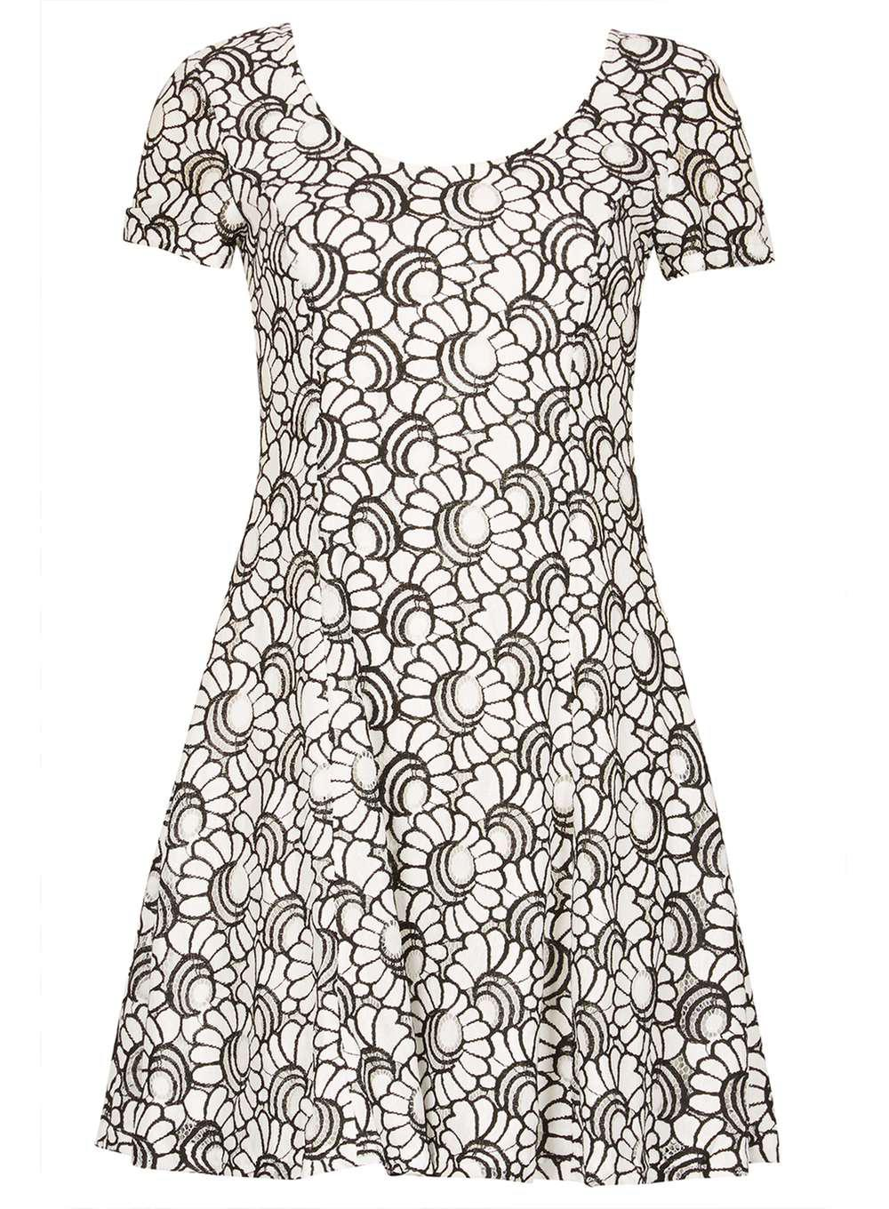 Dorothy Perkins Womens *Izabel London Lace Skater Dress- Outlet Store vMaxEO8