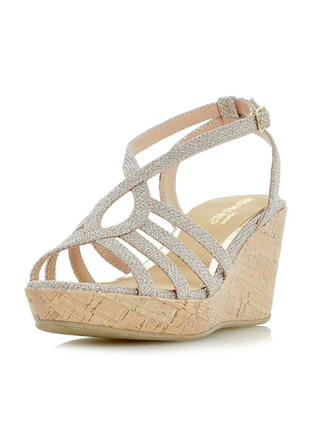bc07ff417 Gallery. Previously sold at  Dorothy Perkins · Women s Gold Sandals ...