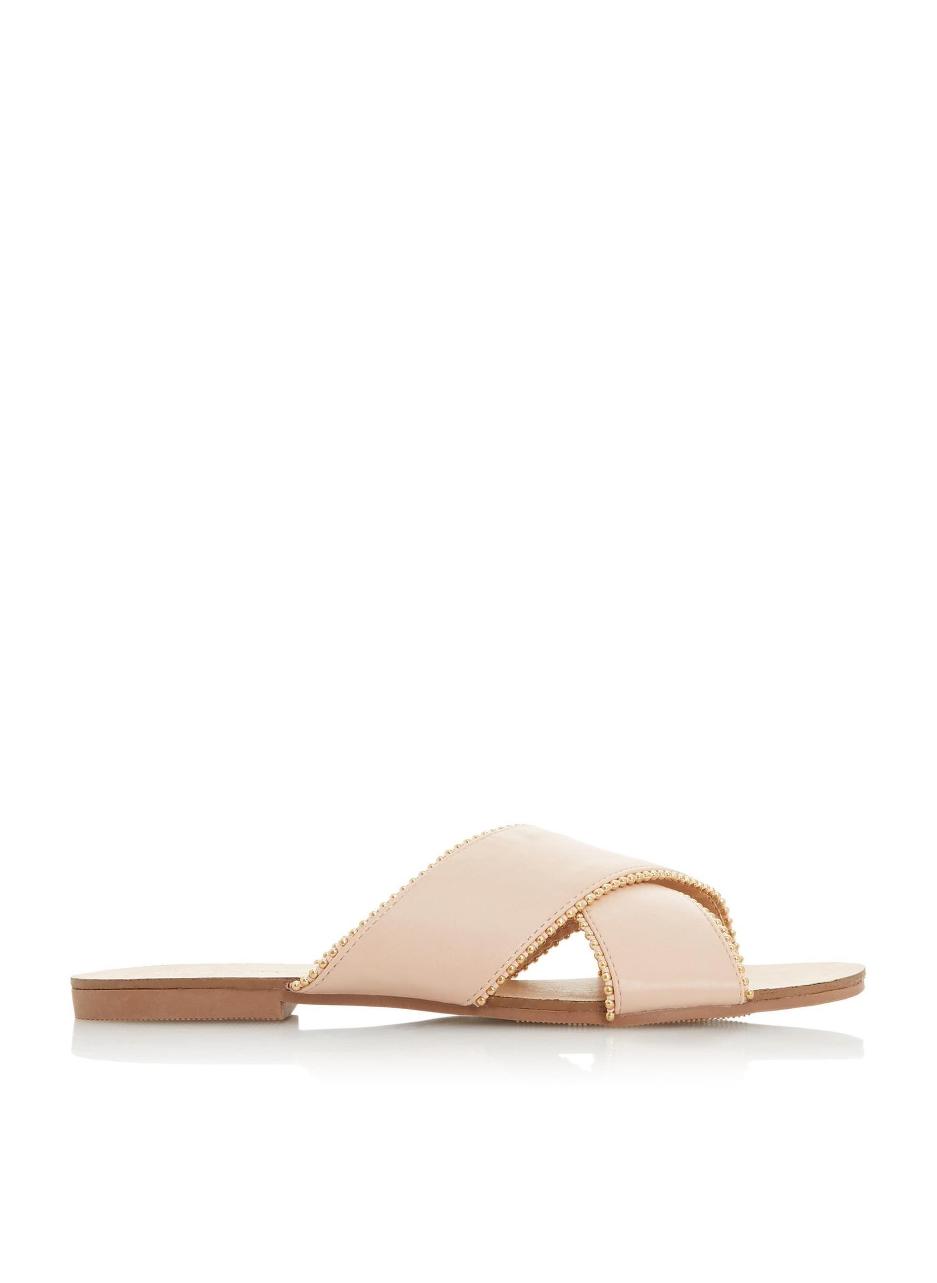 33f51dce7 Lyst - Dune By Dune Nude  lorna  Ladies Flat Sandals in Natural