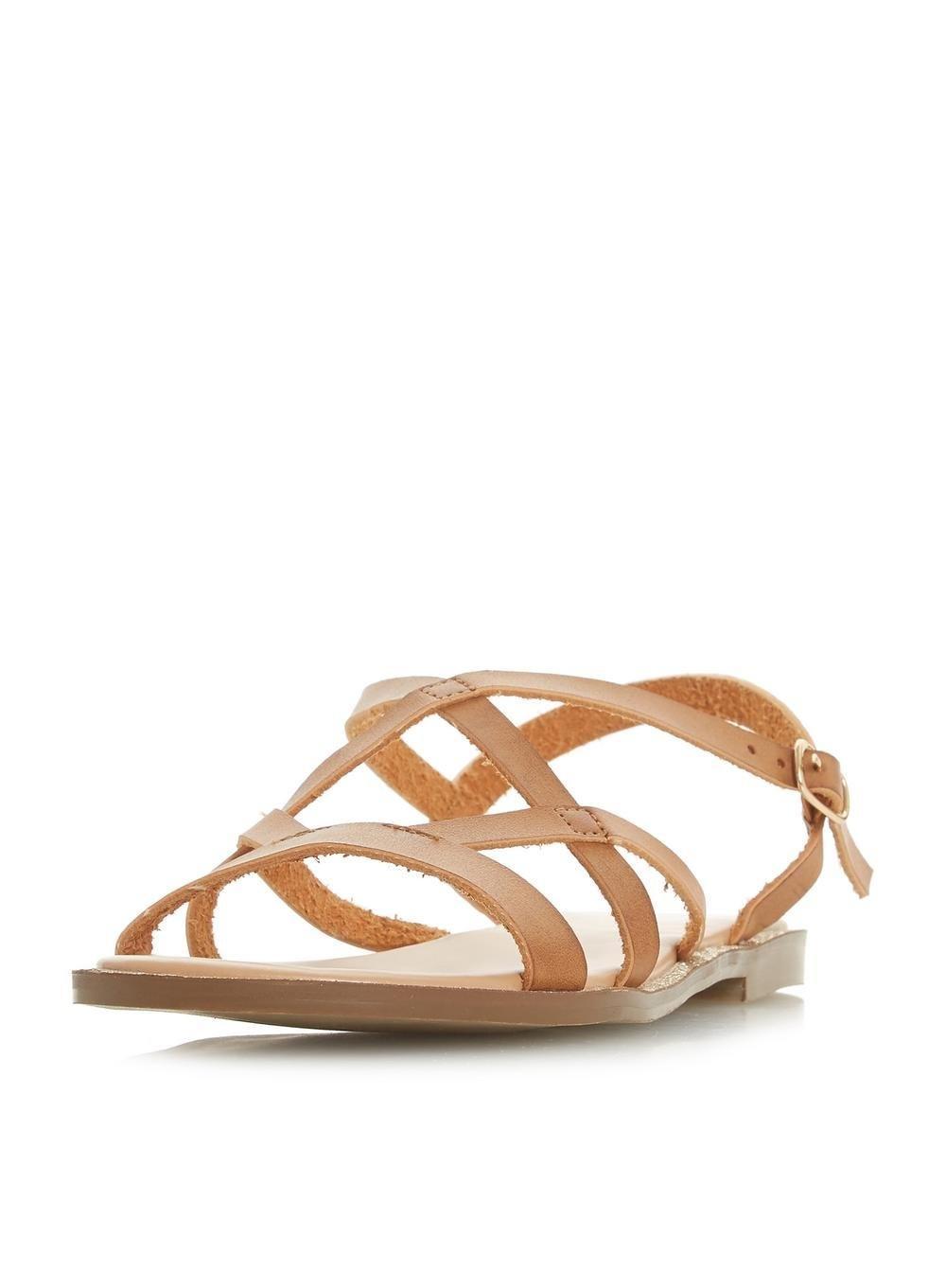 d7e730615 Dorothy Perkins Head Over Heels By Dune Tan  lima  Ladies Flat ...