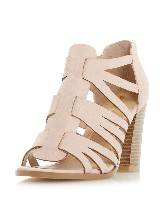 6ad08f7c2a9da Lyst - Dorothy Perkins Head Over Heels By Dune Nude 'jasinda' High ...
