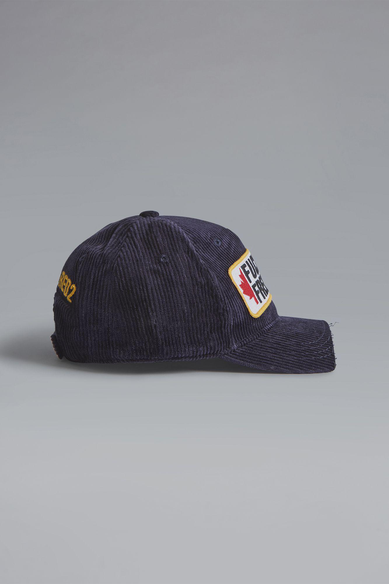 fd31c3ca445d7d Lyst - DSquared² F***in' Freezing Baseball Cap in Blue for Men