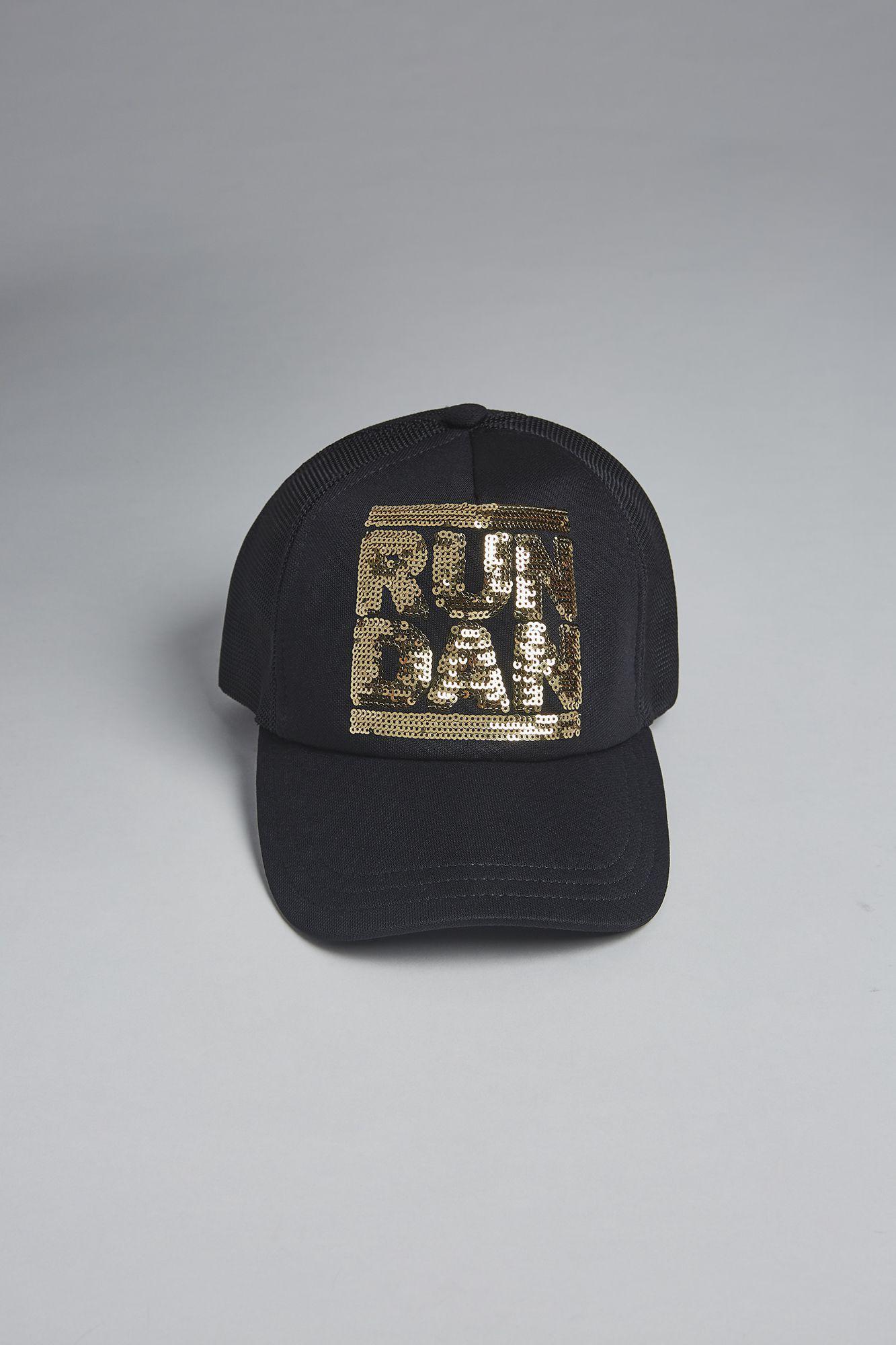 629276d67af Lyst - DSquared² Run Dan Baseball Cap in Black for Men