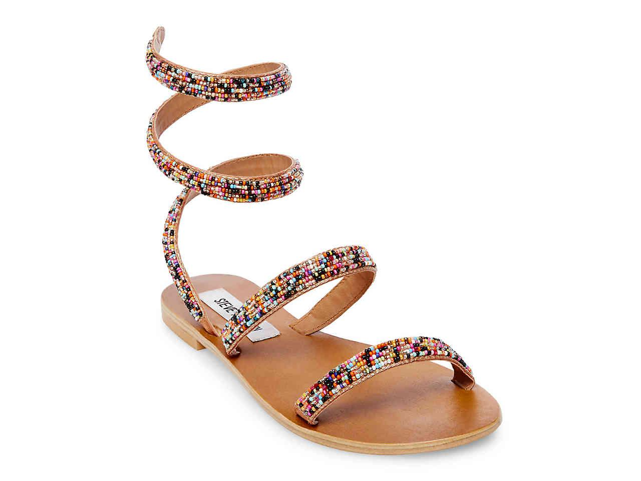 76cd82569 Lyst - Steve Madden Garnish Sandal in Metallic