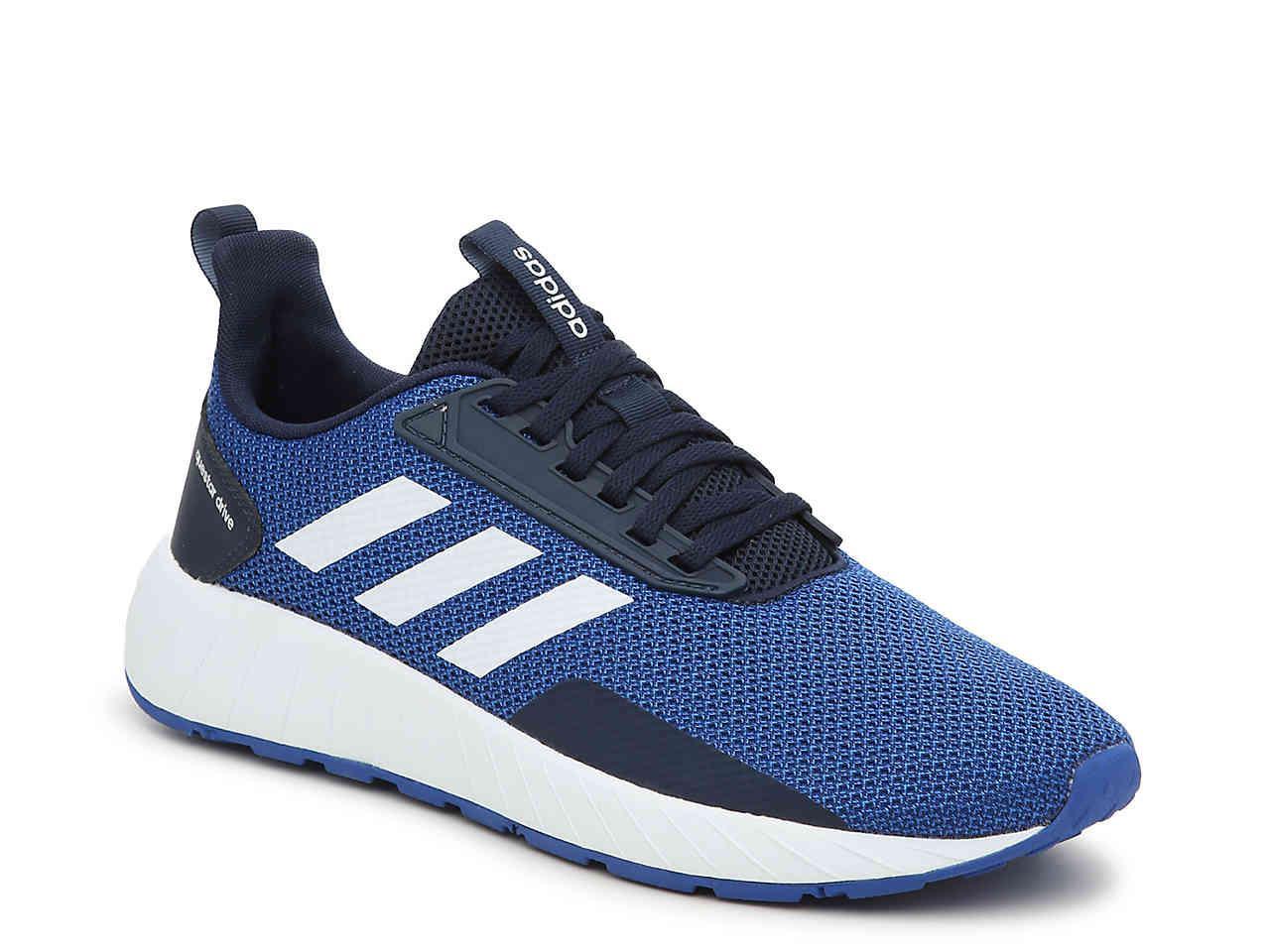 lyst adidas questar guidare da ginnastica in blu per gli uomini.