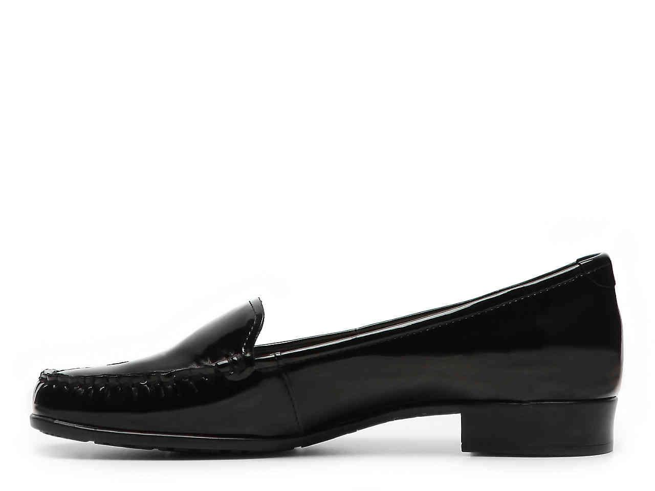 e6daf892e7ba Lyst - Anne Klein Vama Patent Loafer in Black