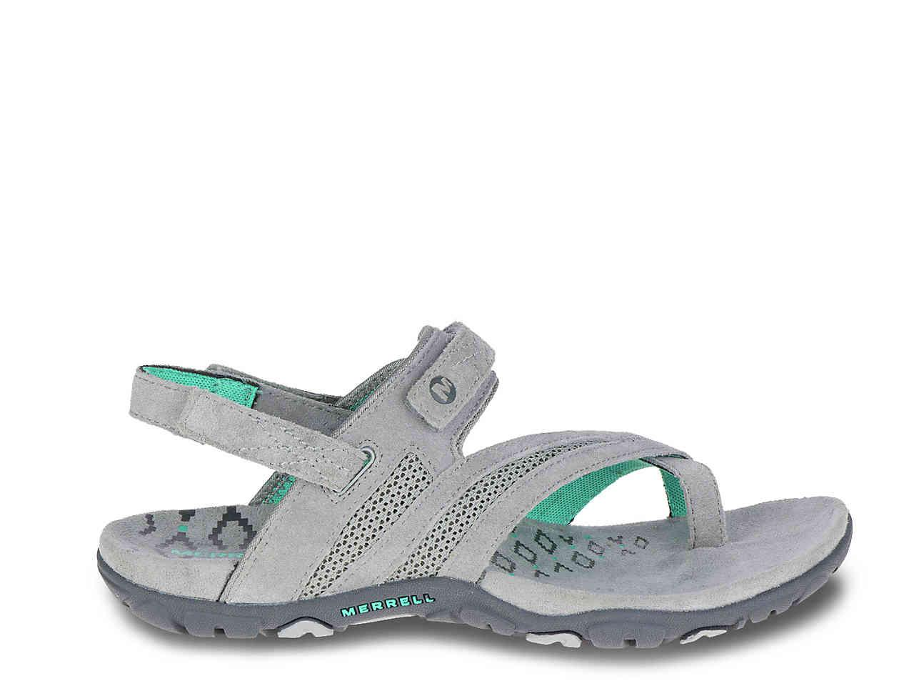 e5528a2e166a Lyst - Merrell Sandspur Delta Sport Sandal in Gray