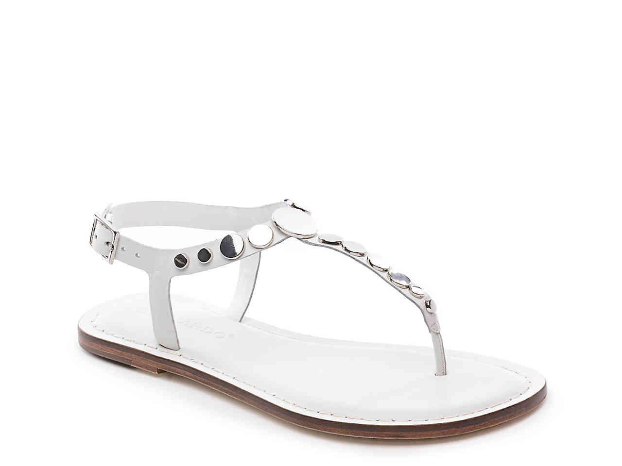 6707b70ba931 Lyst - Bernardo May Sandal in White