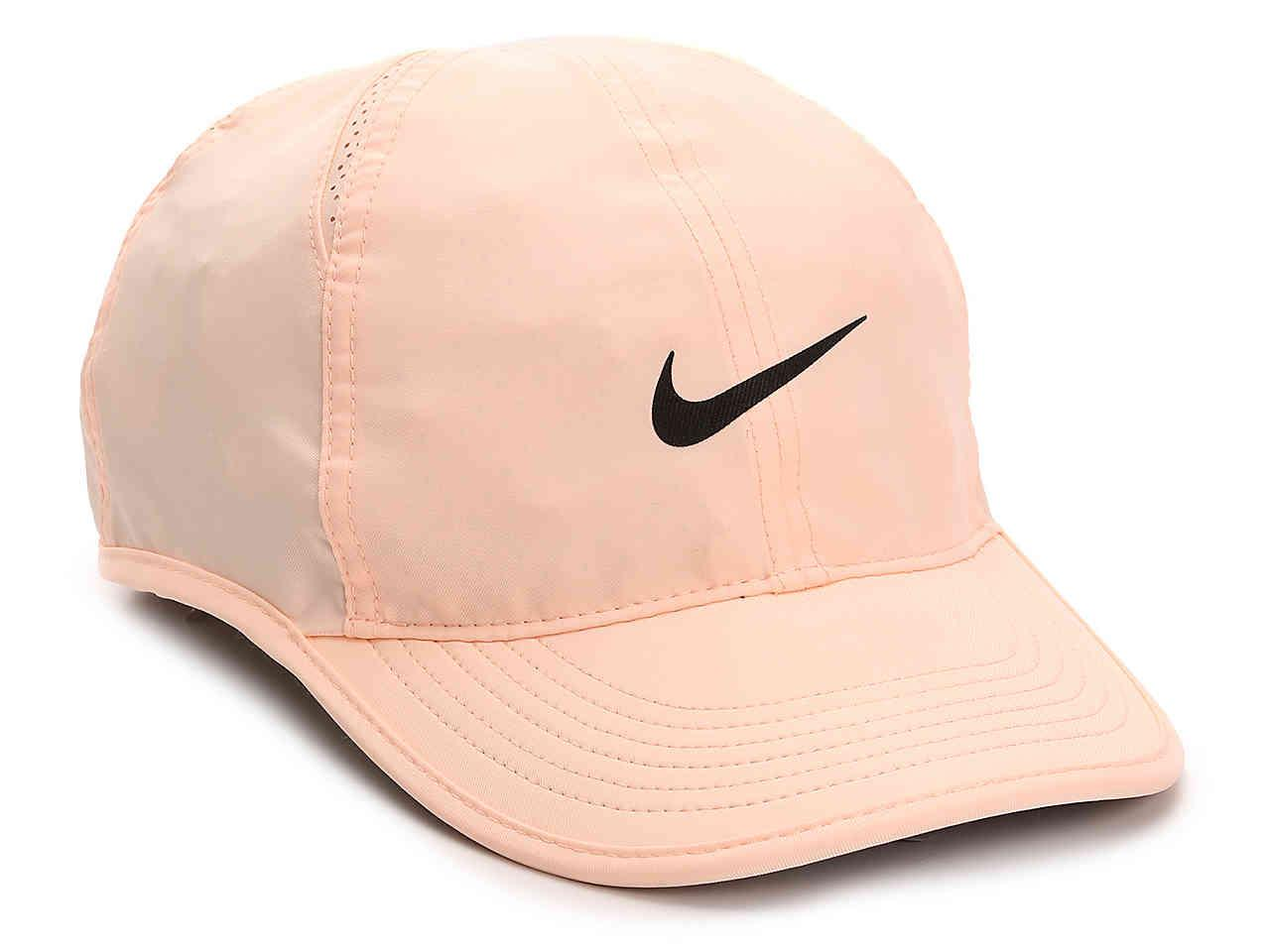 047f568626a ... uk lyst nike aerobill featherlight baseball cap in pink for men e4ca6  3c3da