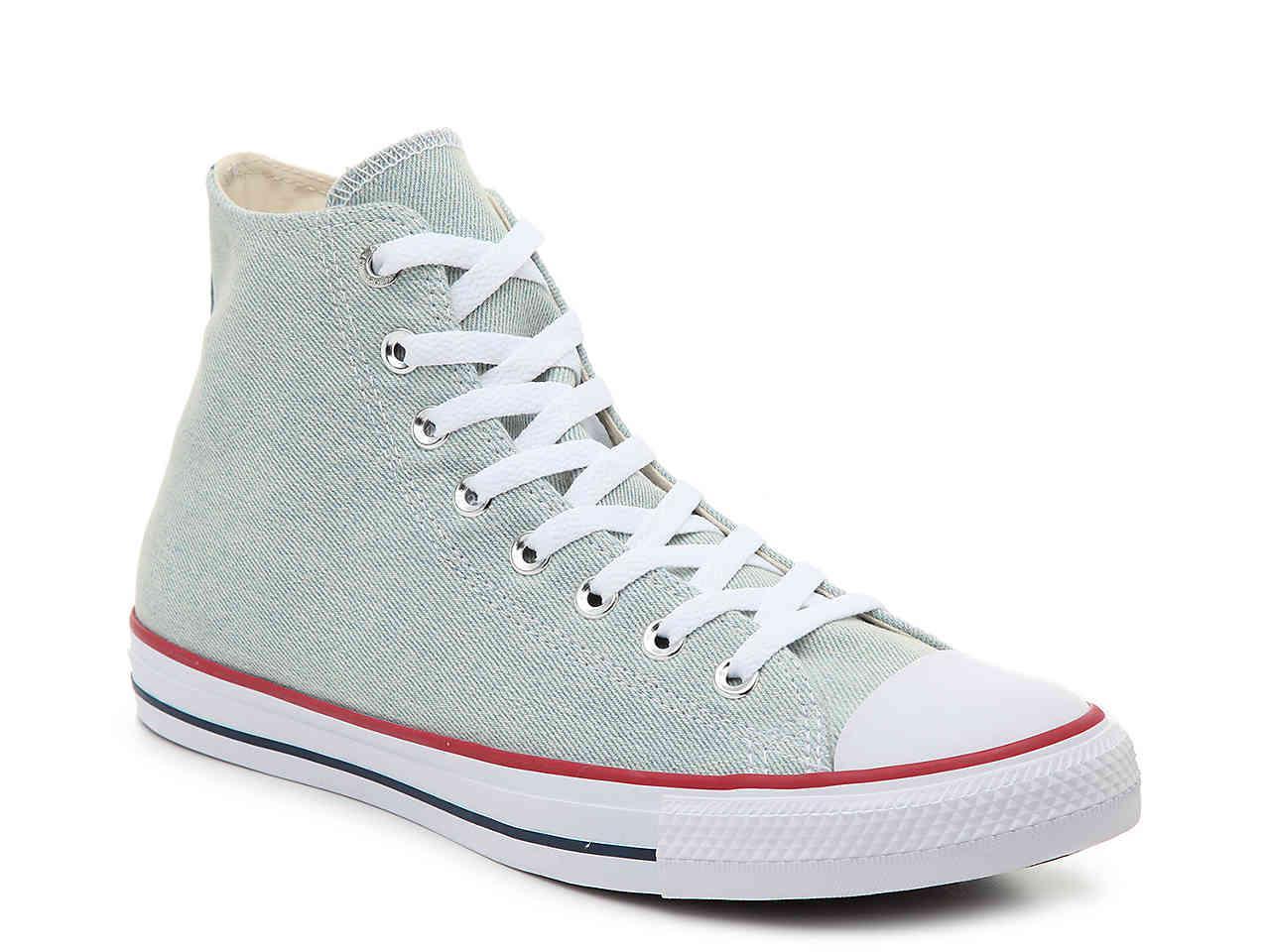 9d3fa19cf939df Lyst - Converse Chuck Taylor All Star High-top Sneaker in Blue