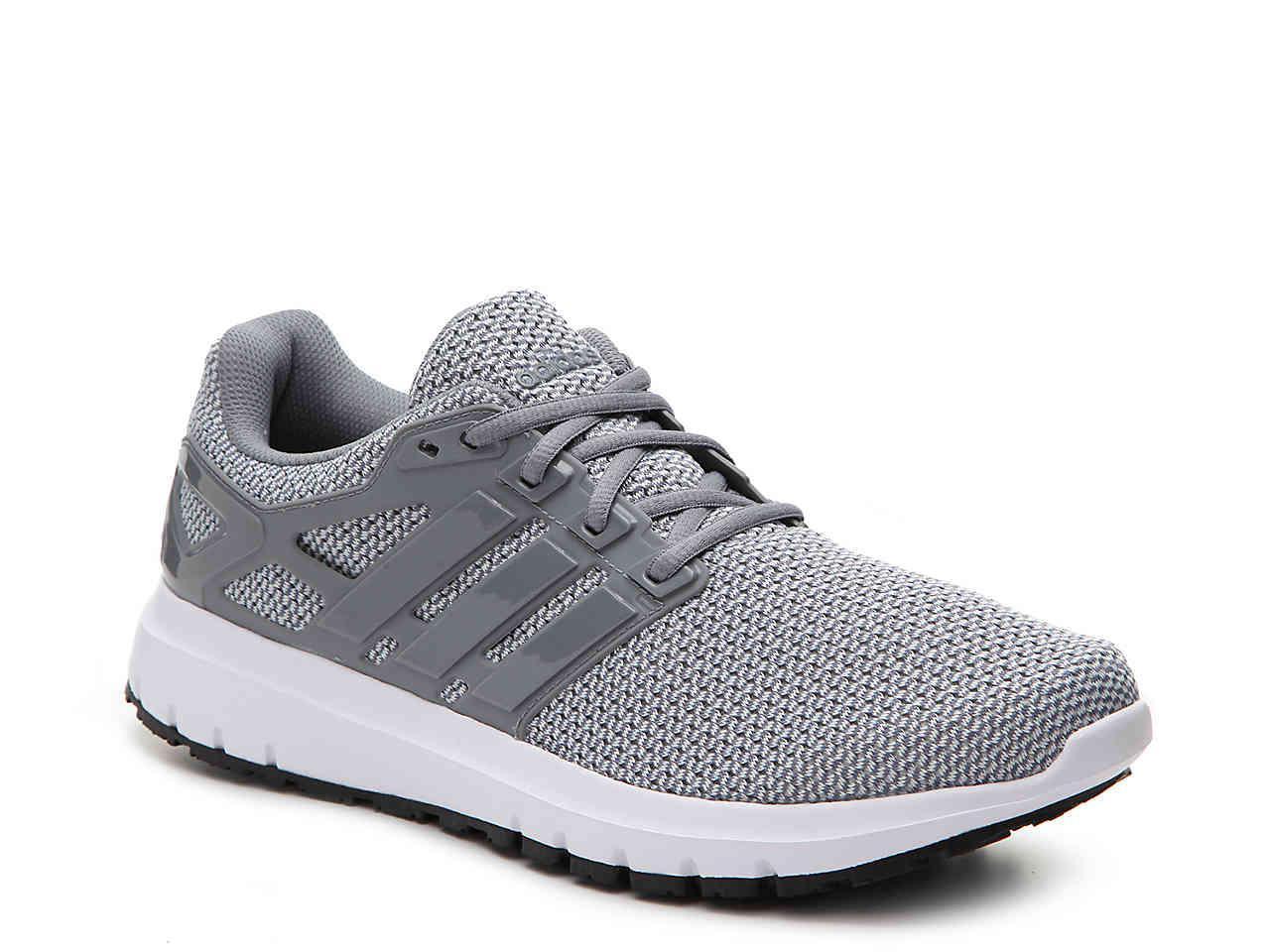 lyst adidas nuvola di energia scarpa da corsa in grigio per gli uomini.