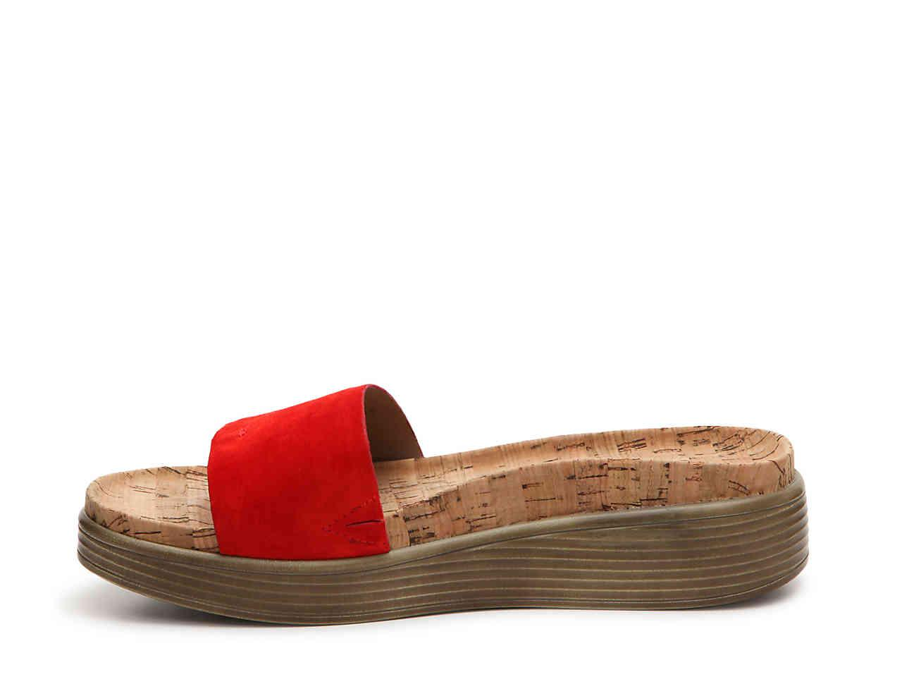 ef4c681df45c Lyst - Donald J Pliner Fiji Wedge Sandal in Red