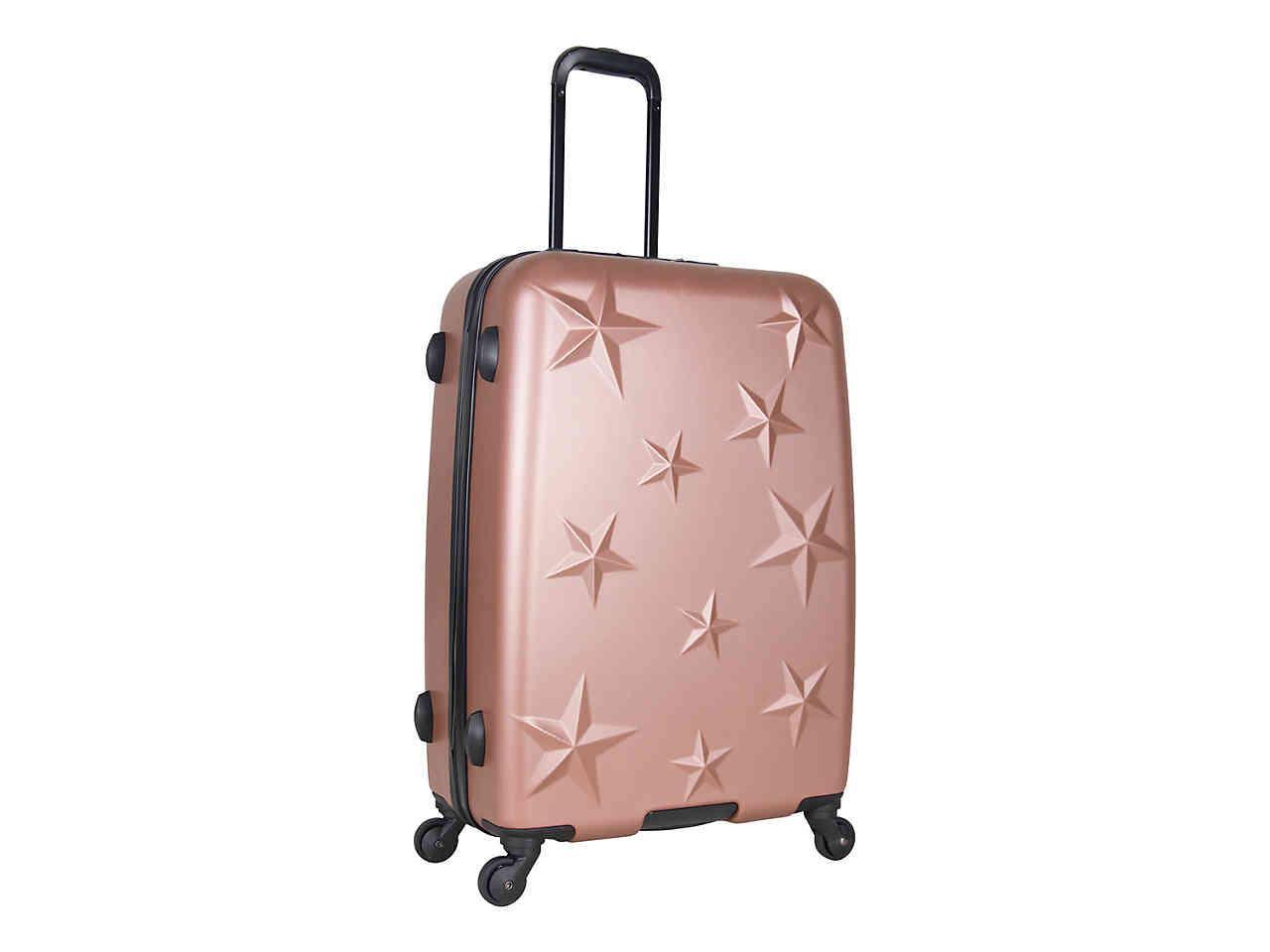 a8fc05f2f Aimee Kestenberg Star Molded 24-inch Checked Hard Shell Luggage in ...