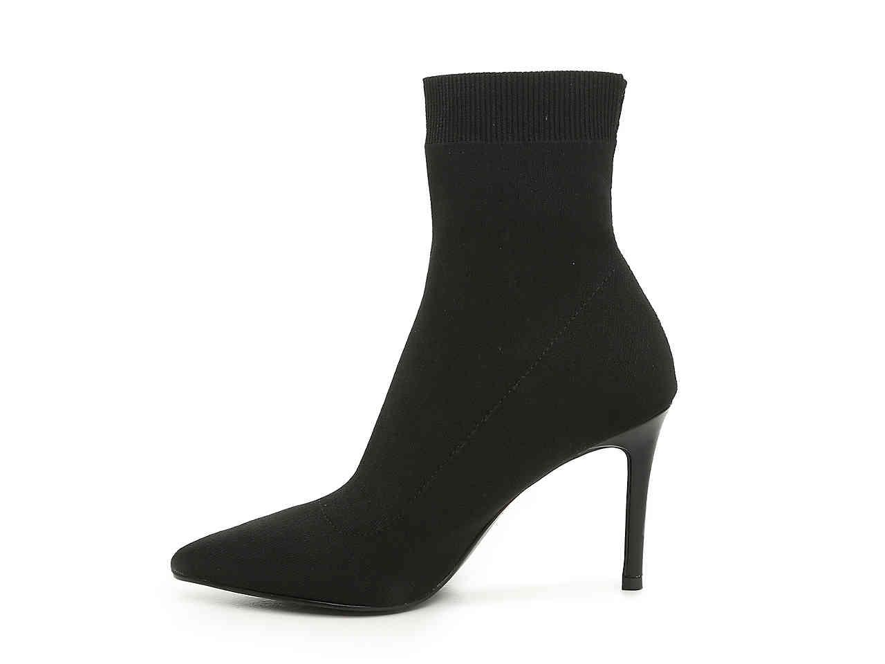 bd5144c30dc Steve Madden - Black Claire Bootie - Lyst. View fullscreen