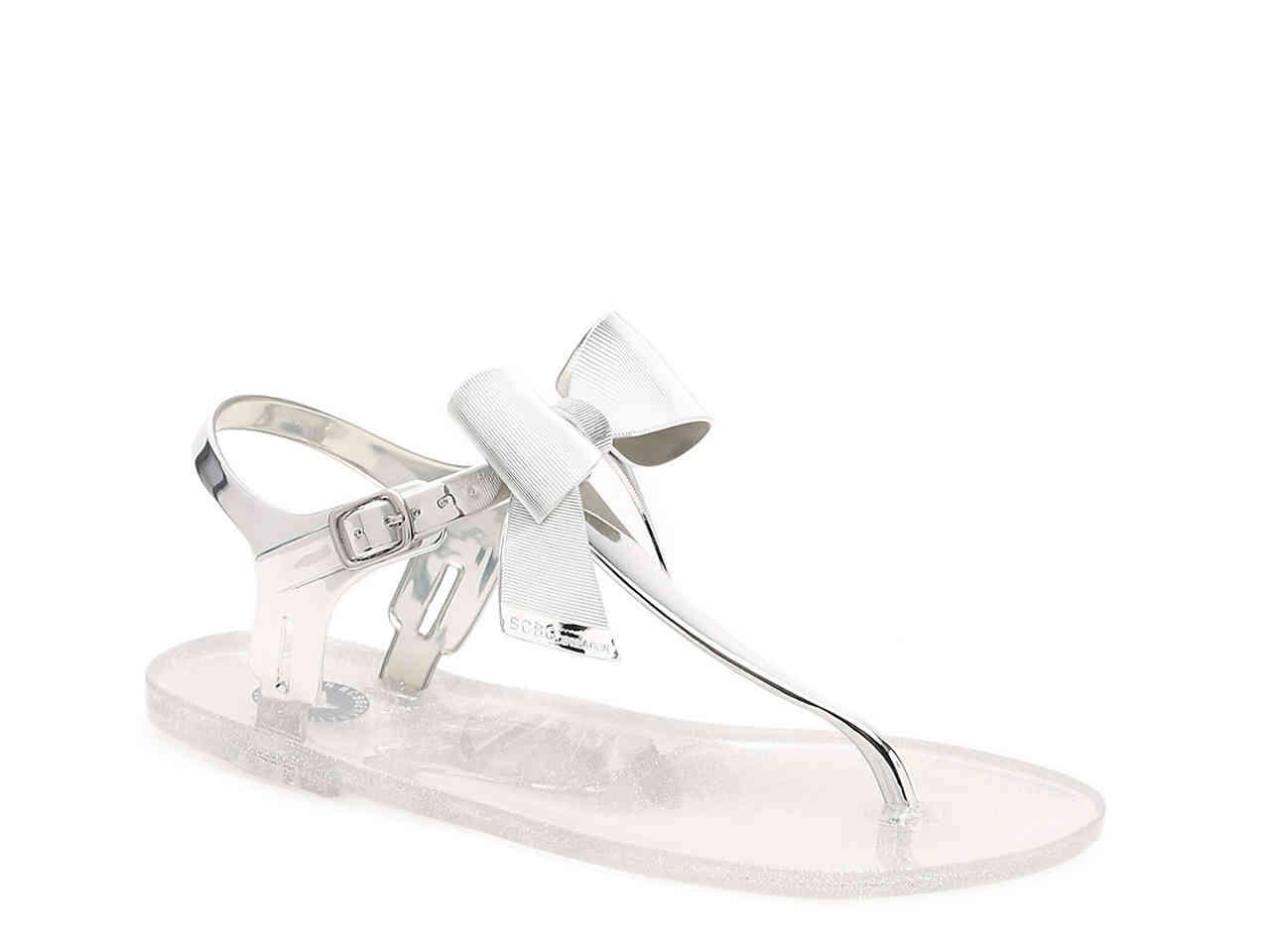 be686c8d26e2 Lyst - BCBGeneration Beena Jelly Sandal in Metallic