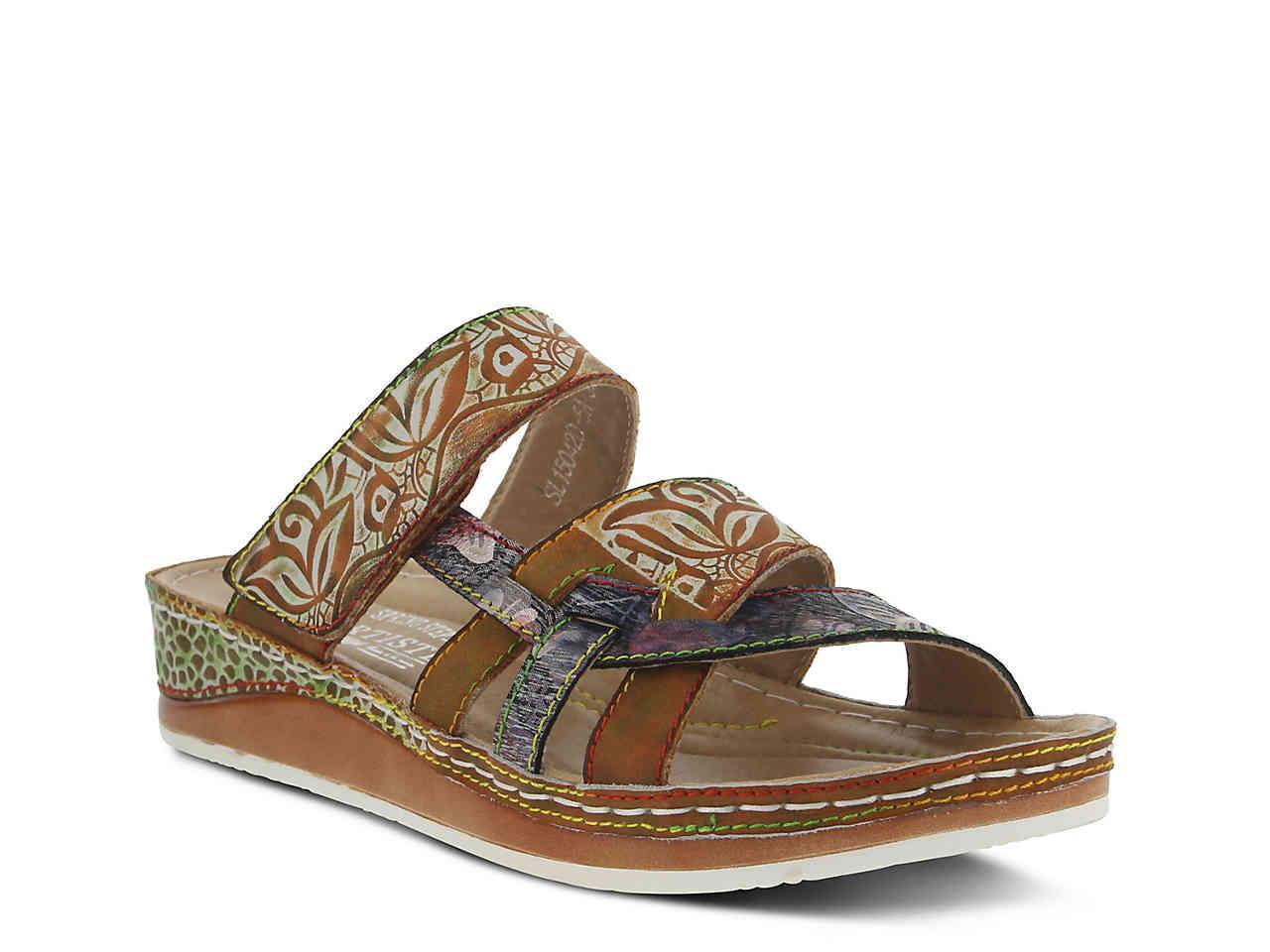 Lyst Spring Step Ciro Wedge Sandal