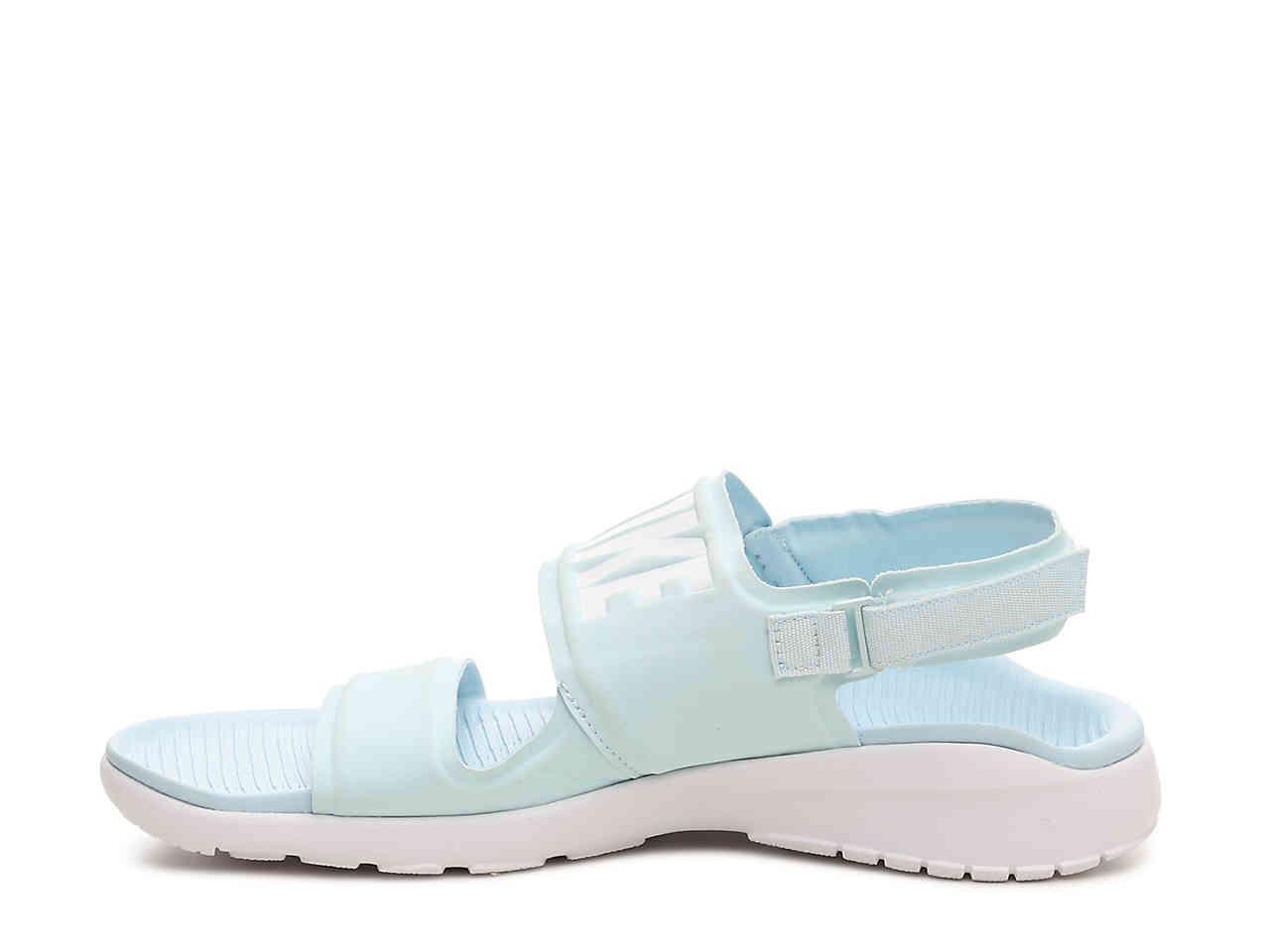 597be87a9dda Lyst - Nike Tanjun Sport Sandal in Blue