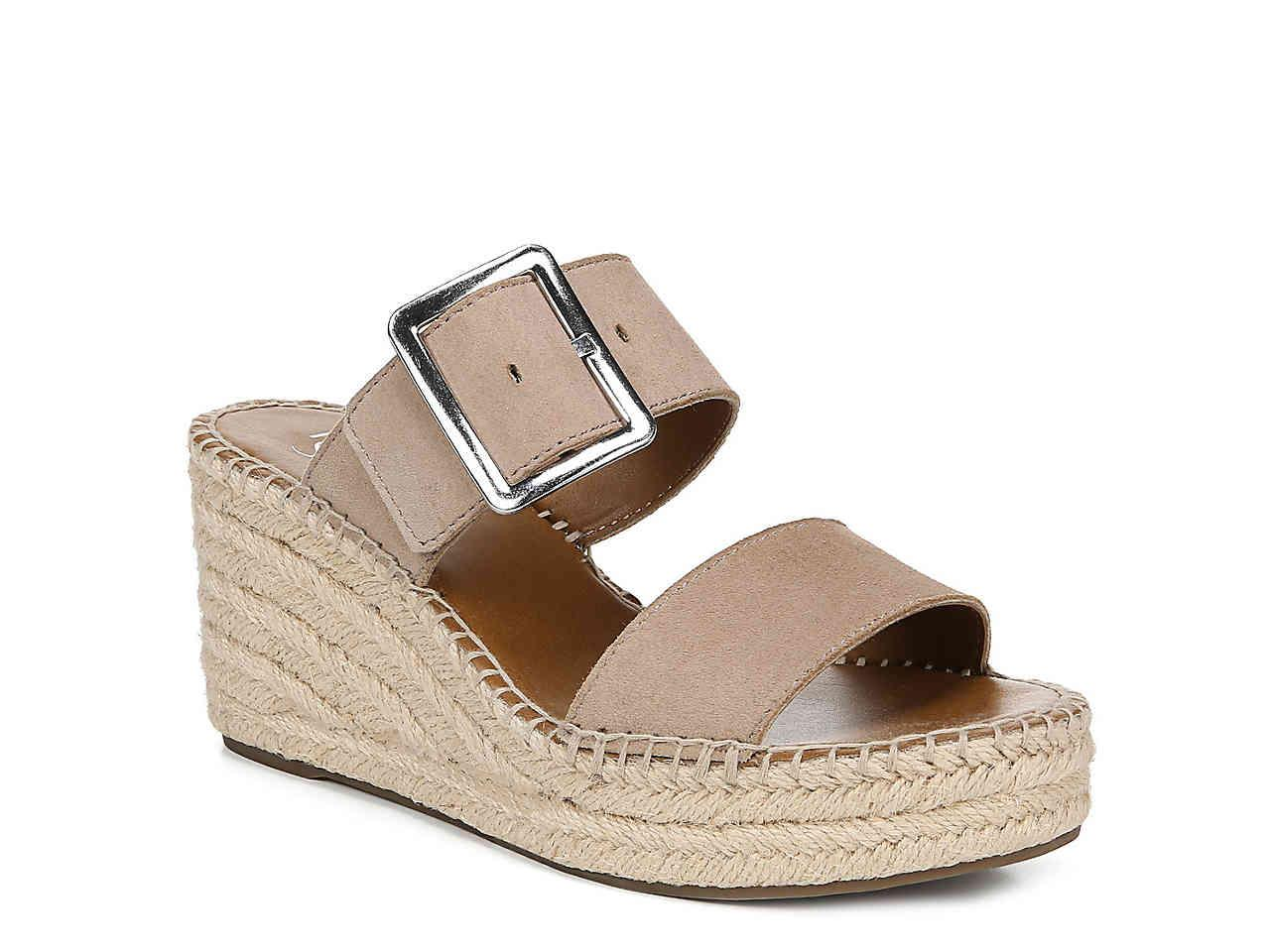 95d121479aed Lyst - Franco Sarto Coastal Espadrille Wedge Sandal in Natural