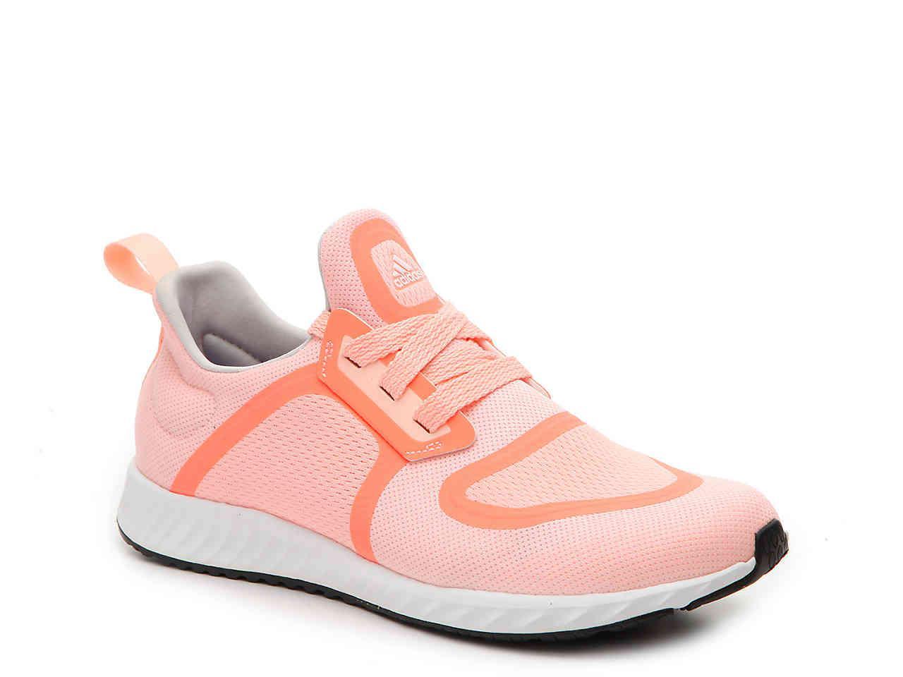 lyst adidas edge lux clima leggera scarpa da corsa in rosa