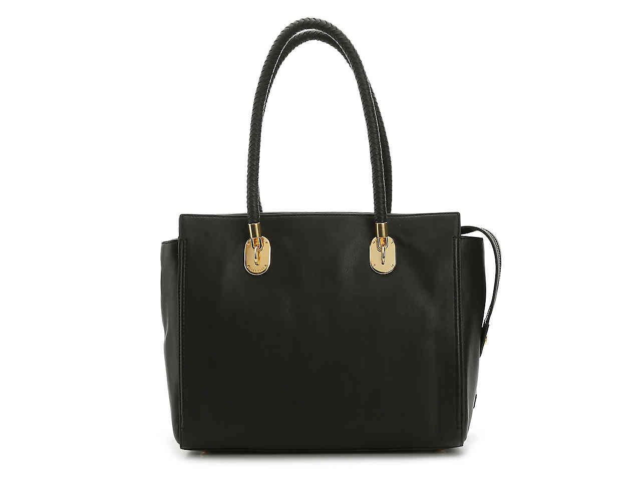 fffca34c4961 Lyst - Cole Haan Benson Ii Leather Tote in Black