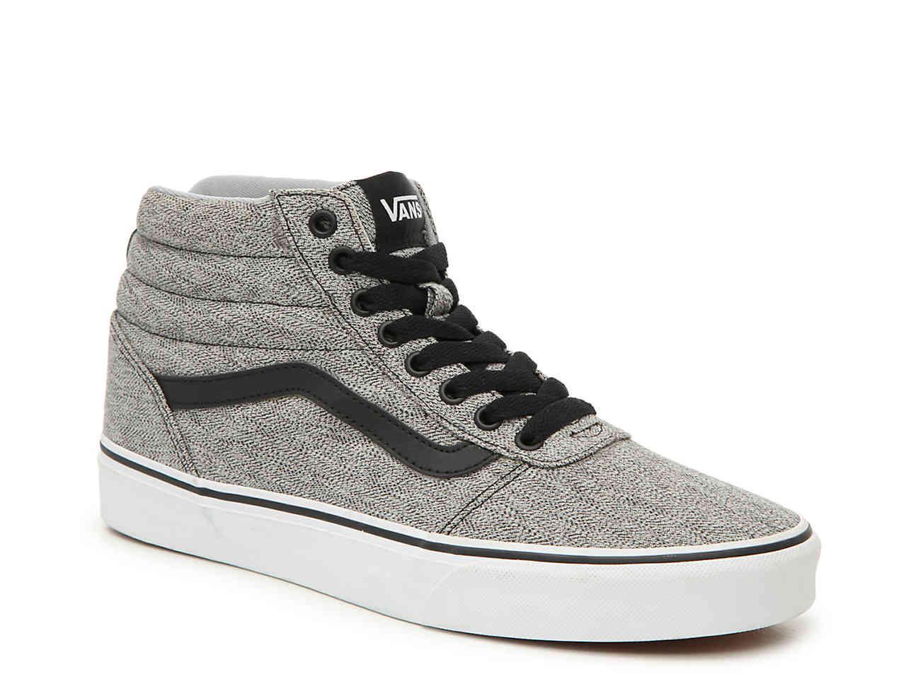 332bc181c1 Lyst - Vans Ward Hi High-top Sneaker in Gray for Men