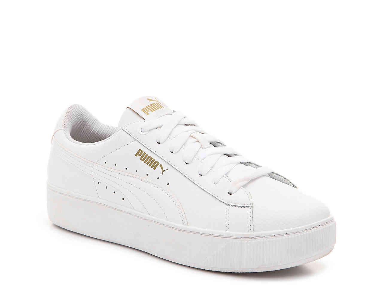 d4ef71a26fa5 Lyst - PUMA Vikky Platform Sneaker in White