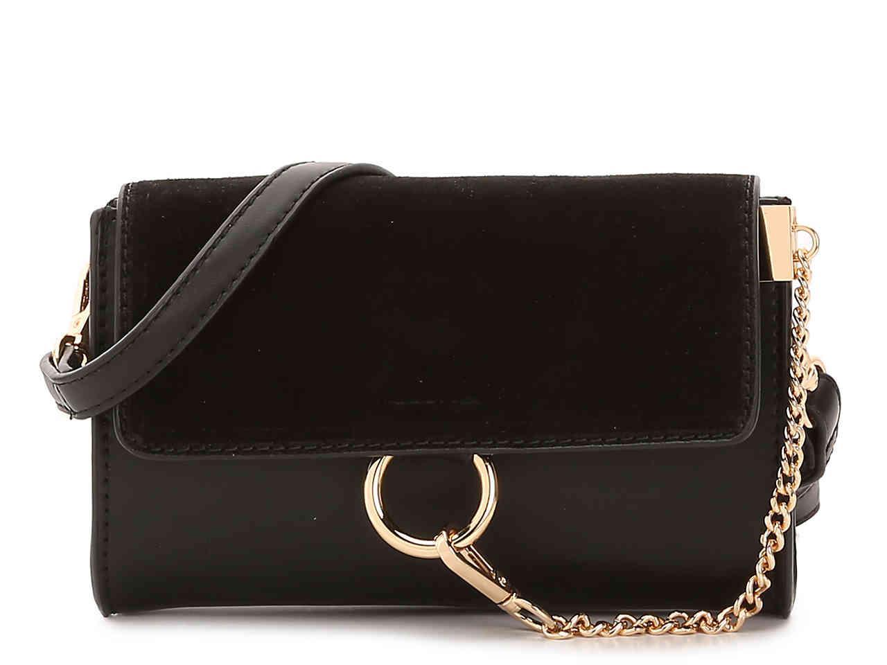 Lyst - Moda Luxe Carlotta Crossbody Bag in Black 033963c196
