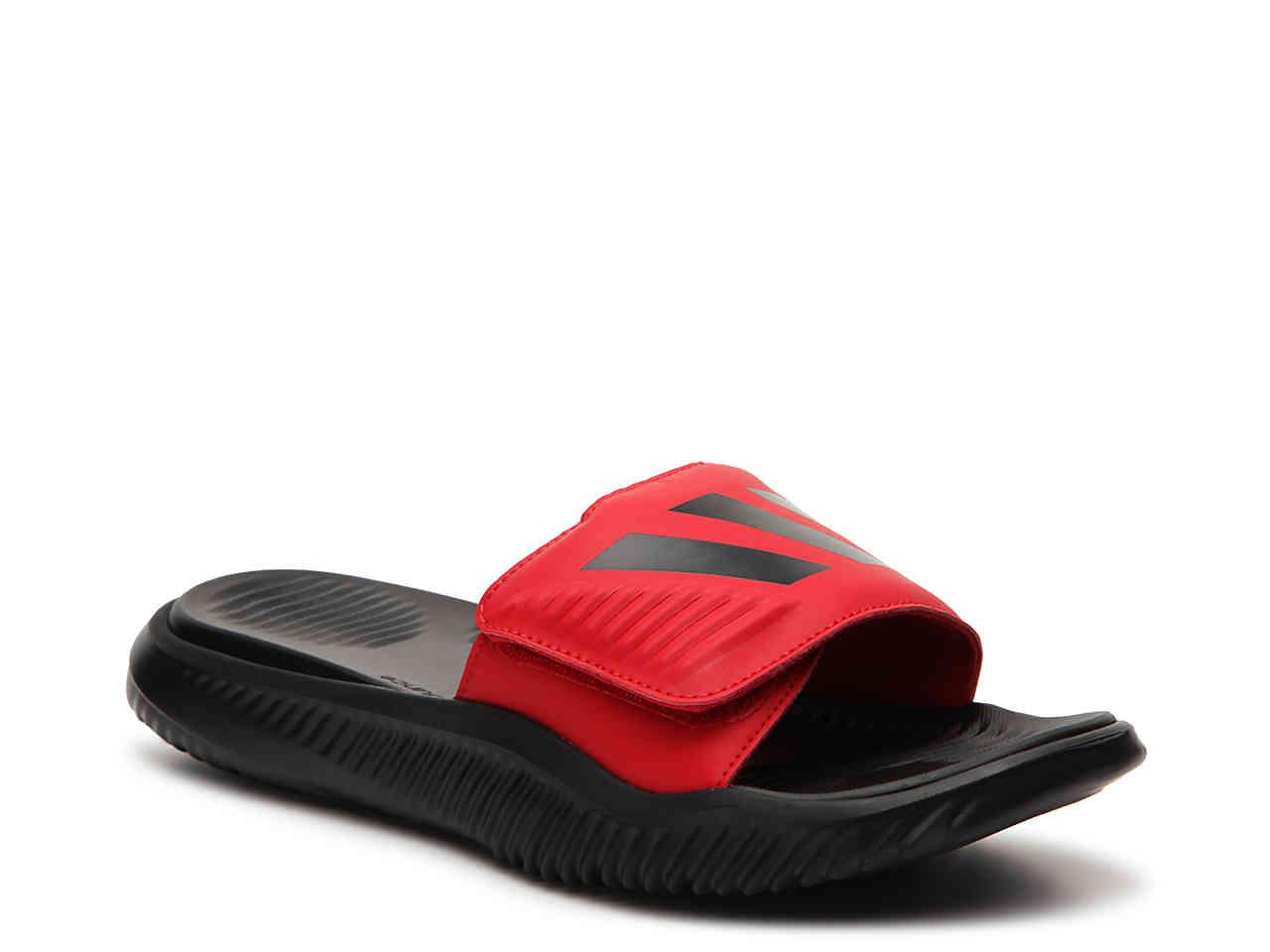 3d805978aab Lyst - adidas Alphabounce Slide Sandal in Red for Men