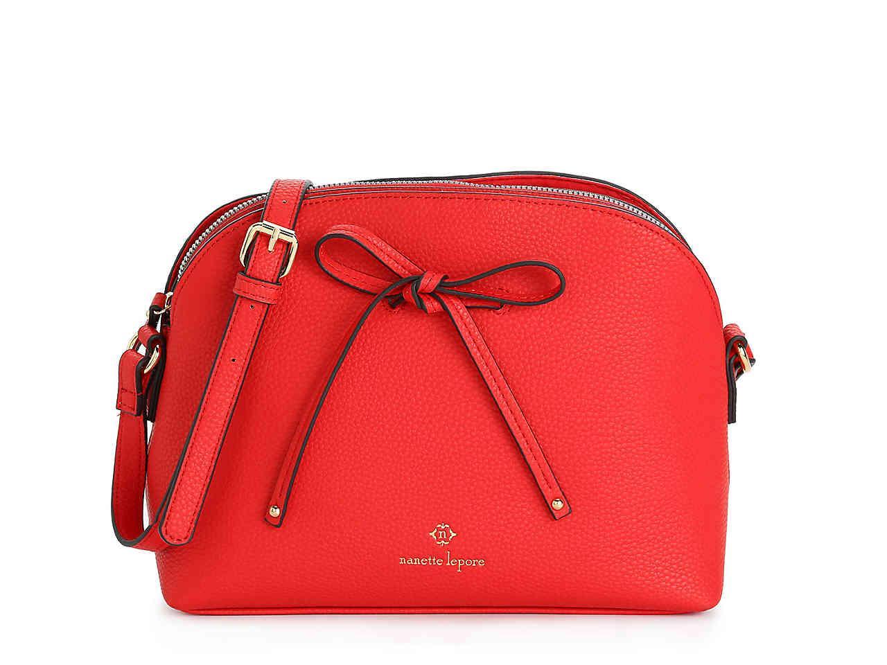 896136df09 Lyst - Nanette Lepore Arabelle Crossbody Bag in Red