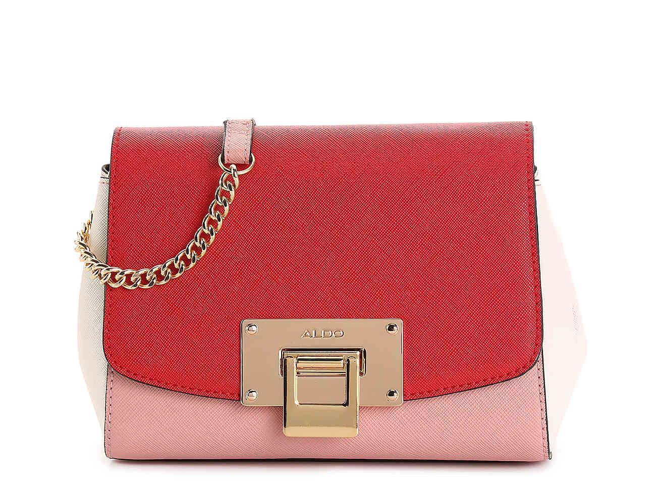 07076647a8 ALDO - Red Rotella Crossbody Bag - Lyst. View fullscreen