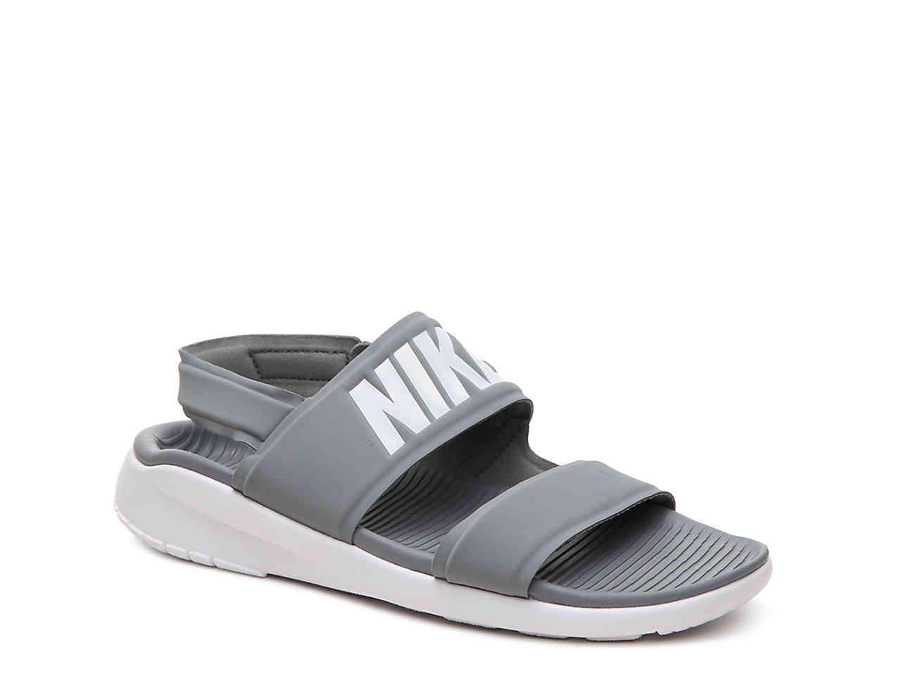 c8d880070e2d Lyst - Nike Tanjun Sport Sandal in Gray