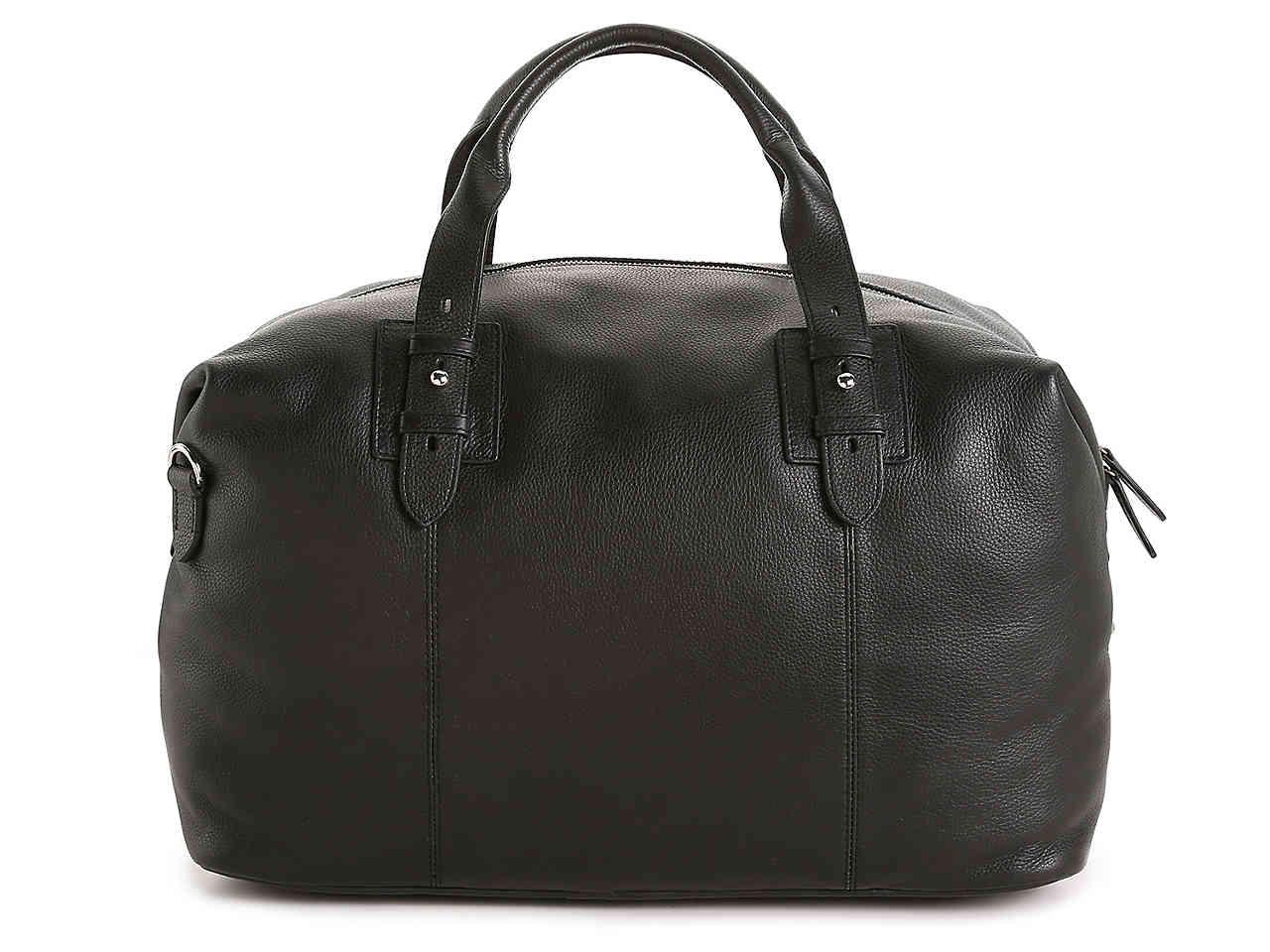 7f0f1e8ae8dd Lyst - Cole Haan Leather Weekender Bag in Black for Men