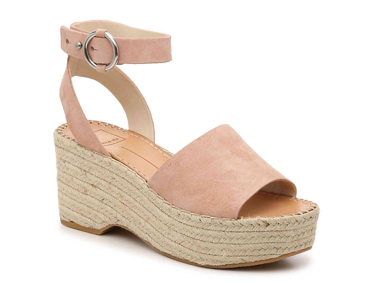 02711e153f8 Lyst - Dolce Vita Lesly Espadrille Wedge Sandal in Pink - Save 17%