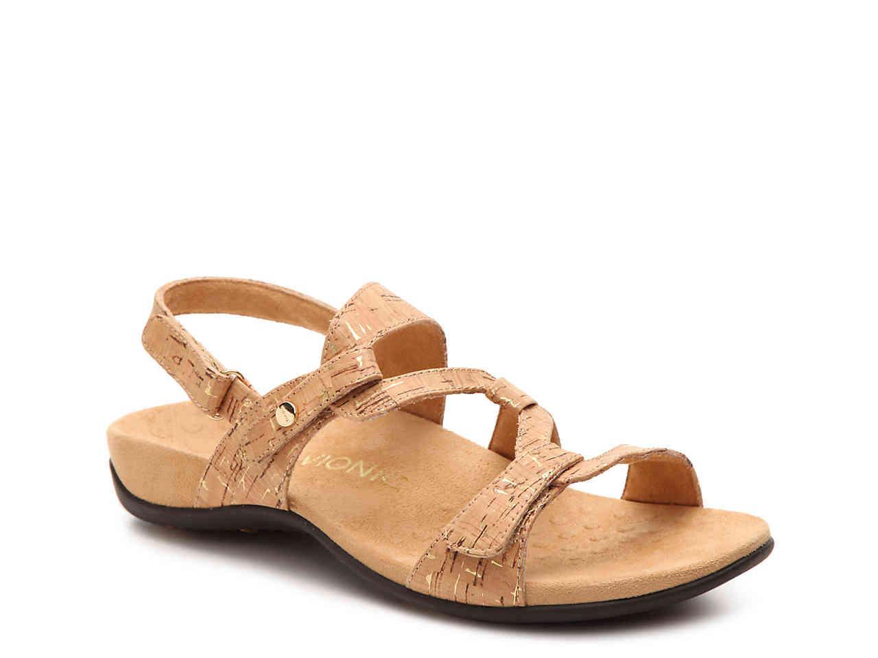 e3158d1c78f0 Lyst - Vionic Paros Flat Sandal