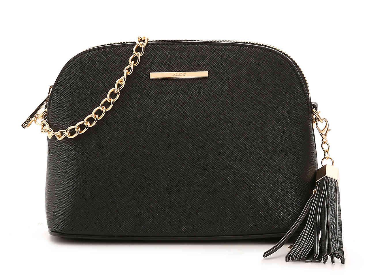 Lyst - ALDO Elroodie Crossbody Bag in Black 2ce36df1ddec0