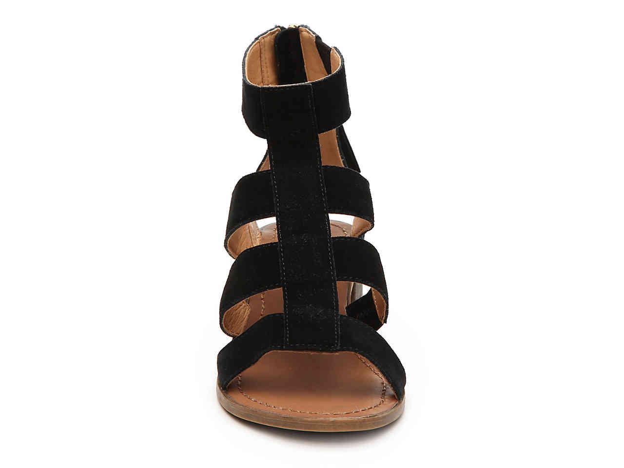 9686cc3f104f Lyst - Steve Madden Daviss Gladiator Sandal in Black